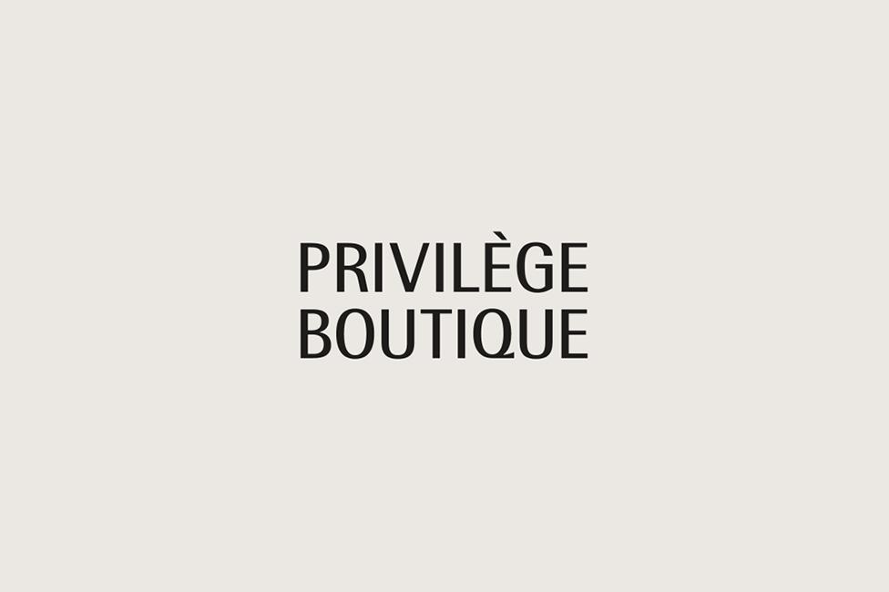 B/T Design Create Branding for Privilege Boutique Singapore