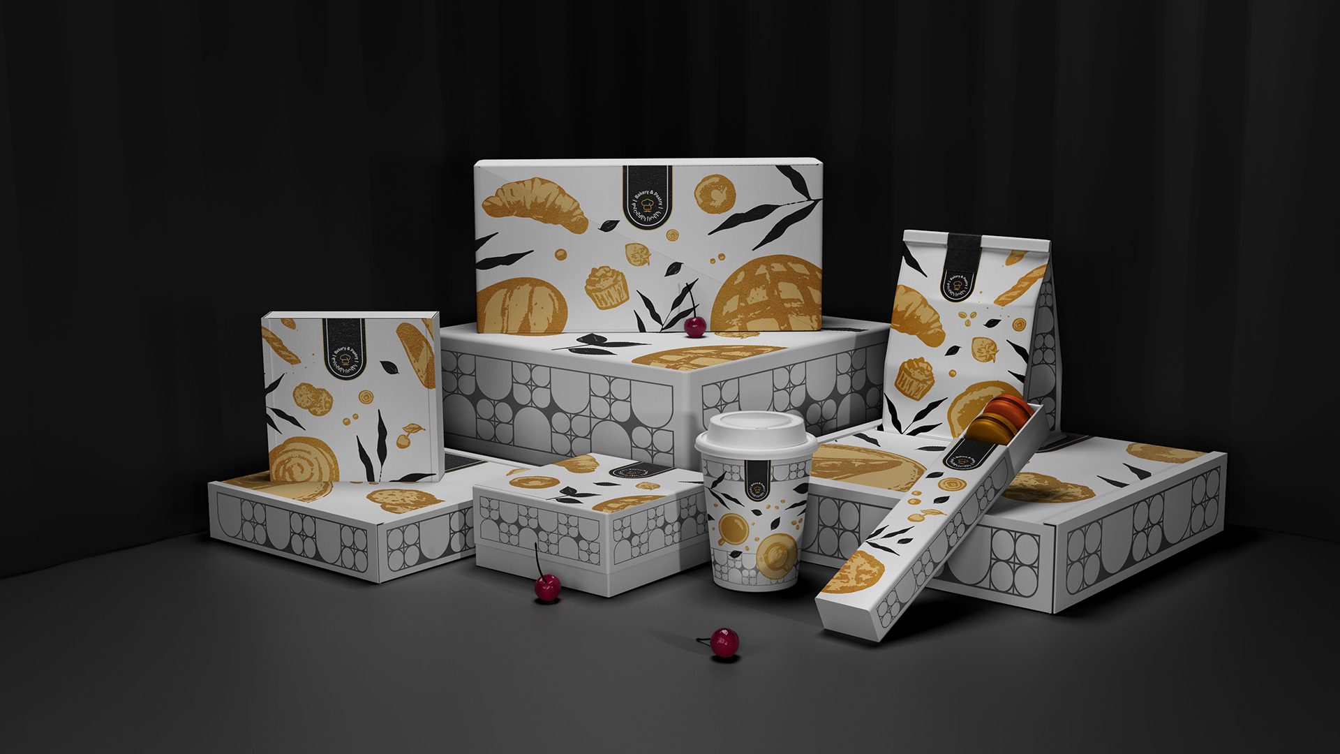 Packaging Design for a Saudi Arabian Bakery and Pastry
