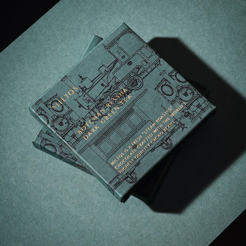 Yuta Takahashi Design Studio Collaboration With Chocolate of Miltos And Botchan Ressha