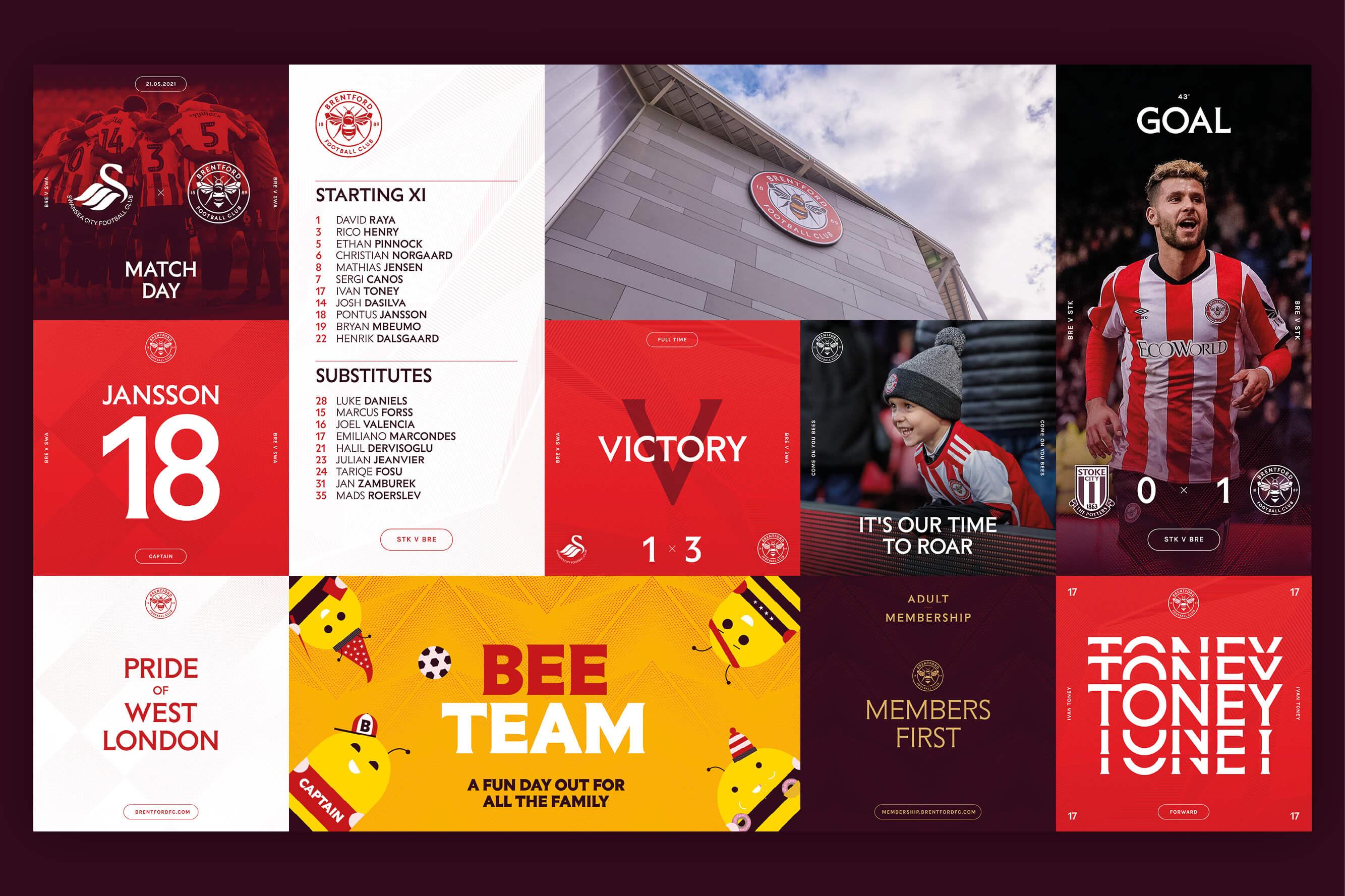 Thisaway Rebrands English Championship Football Club Brentford FC