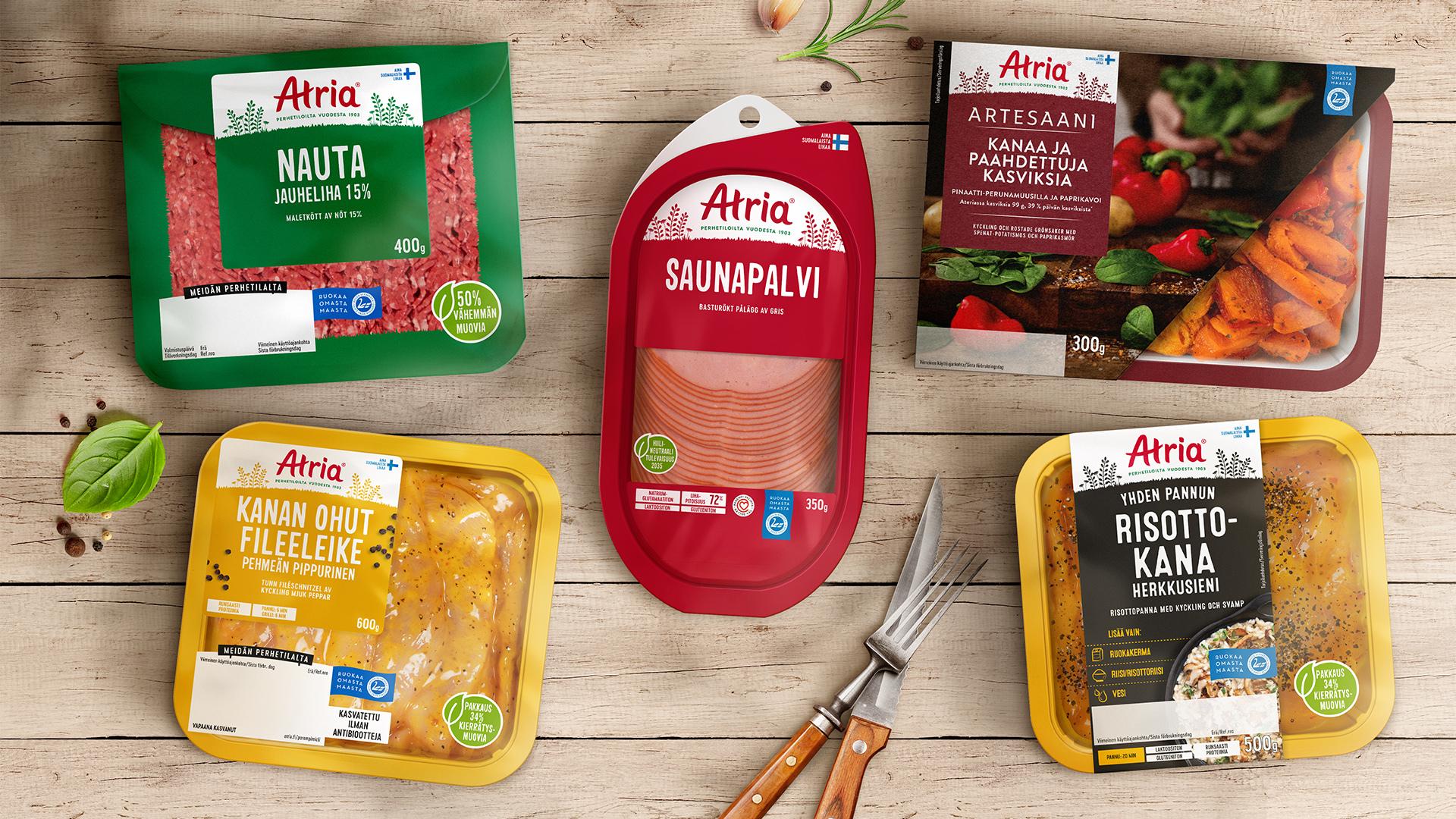 UK Agency BrandMe Rebranding for Atria, Finland's Trusted Leader