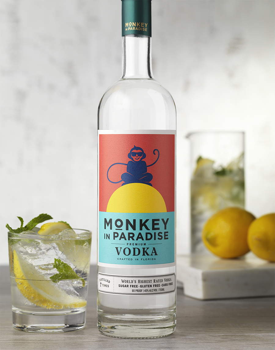 CF Napa Redesigns The Official Vodka of Paradise