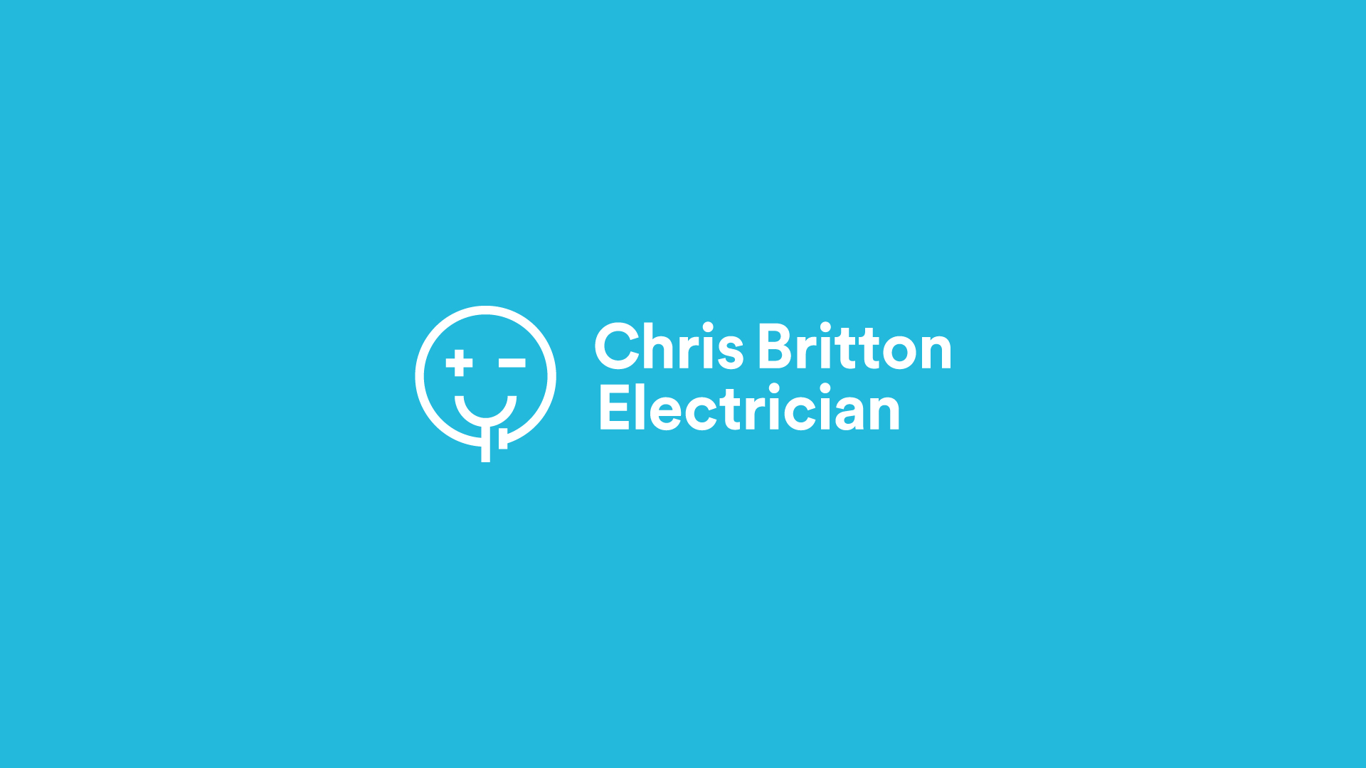 Chris Britton Electrician Branding Concept