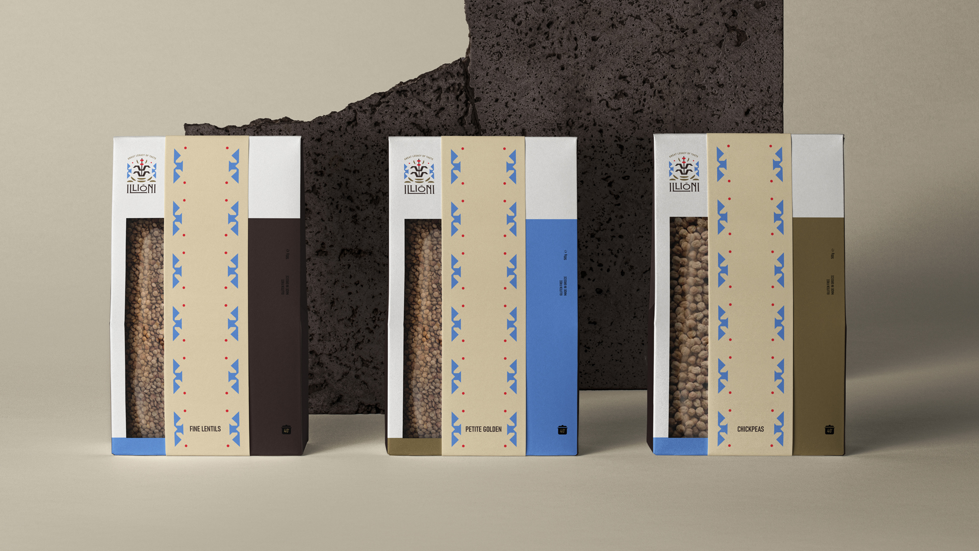 Maria Delliou Creates Identity for Illioni