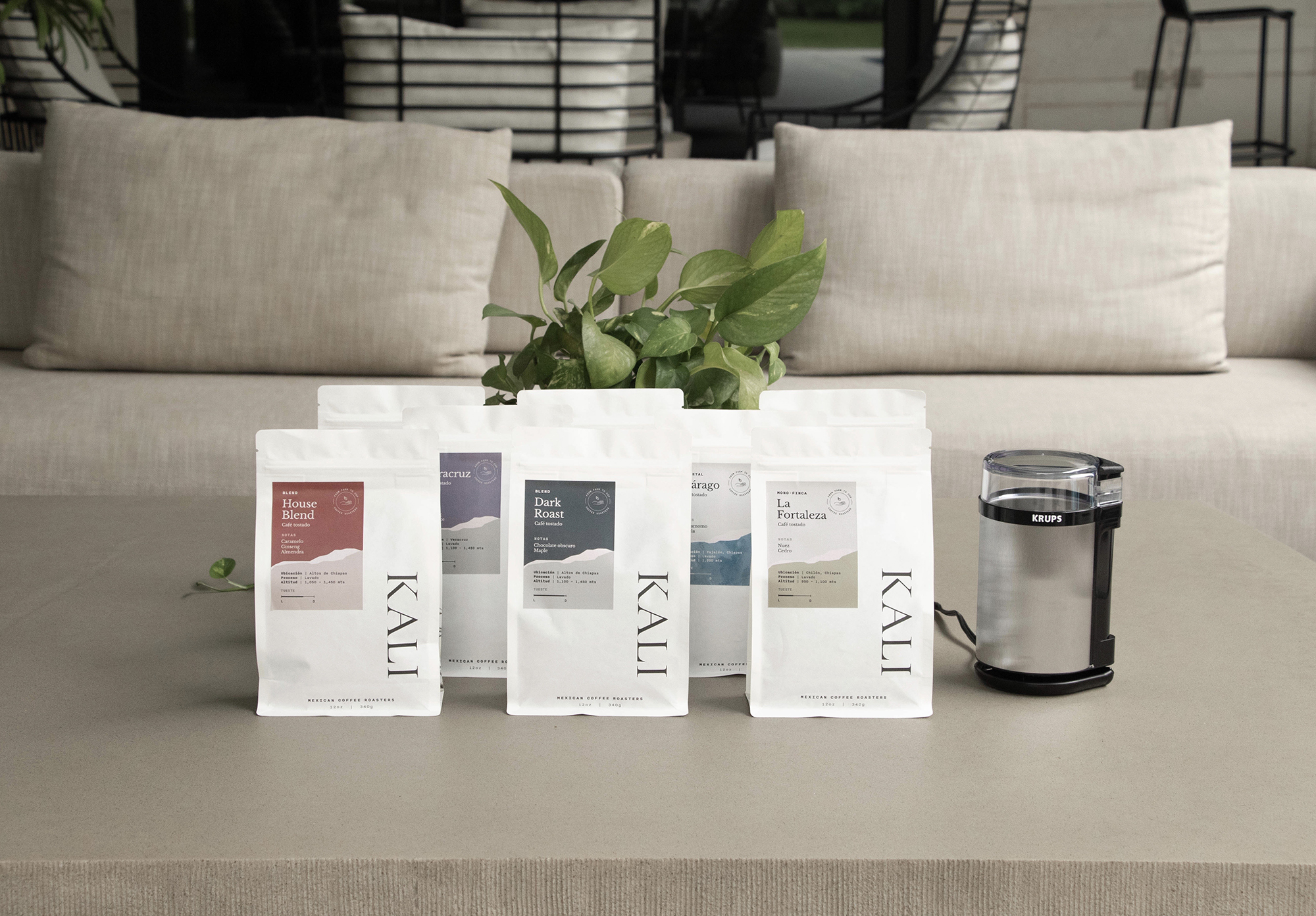 Kali Coffee Roasters In-House Creative Team Launches their New Coffee Bags