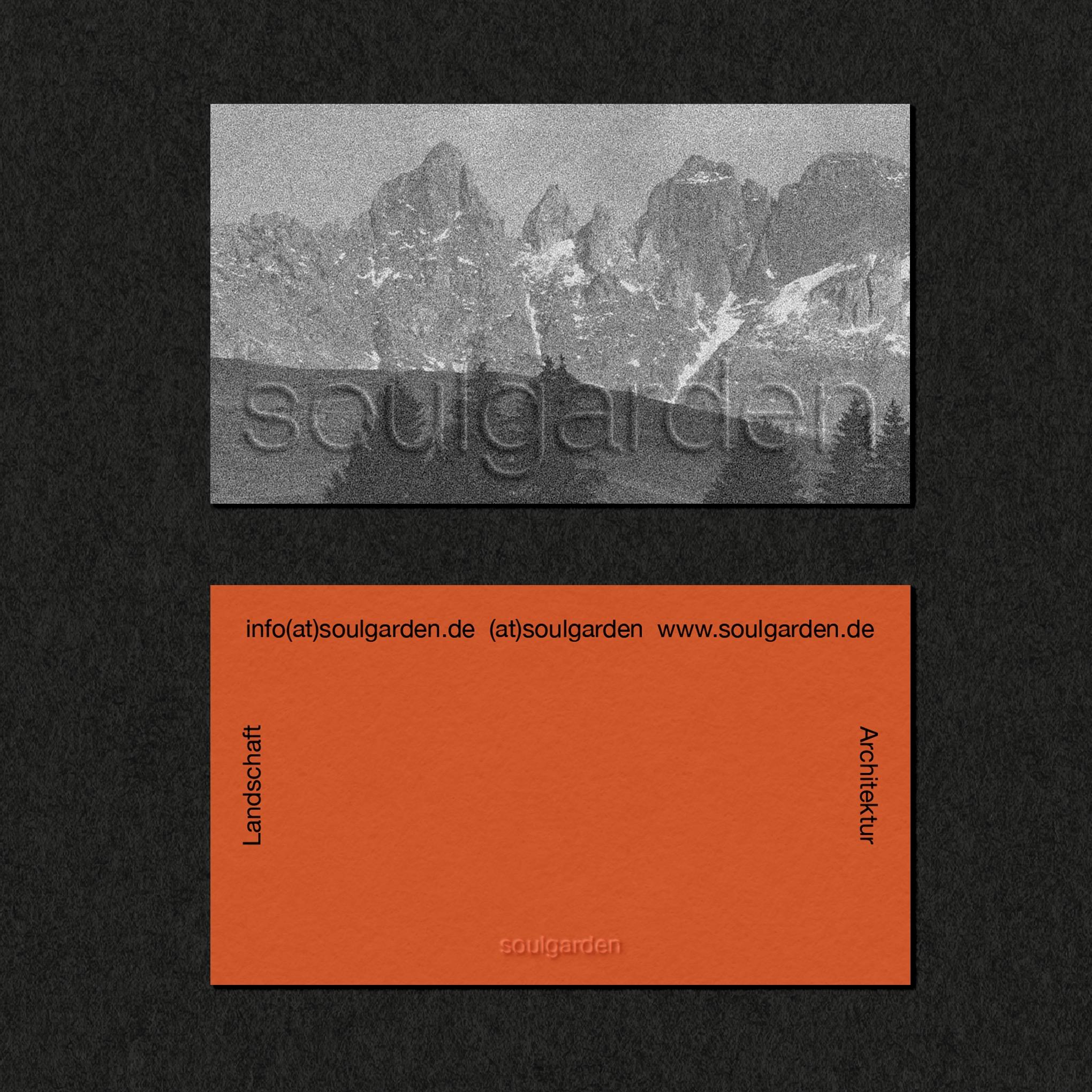 Studio 87 Creates Concept Branding for Garden Architecture and Realisation Company Soulgarden