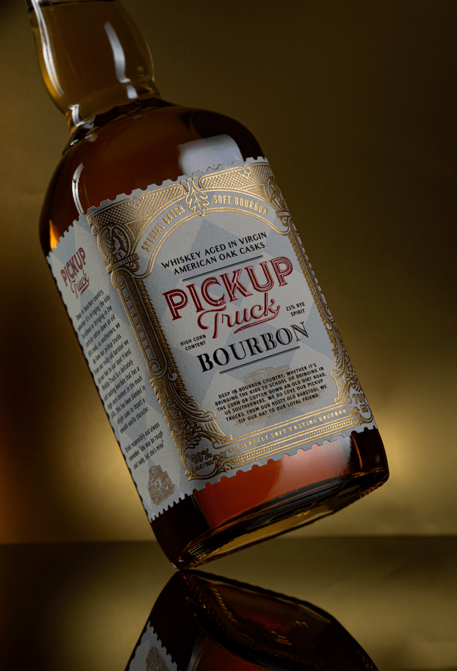 ThinkBoldStudio Create Packaging Design Label for a Delicately Soft Tasting Bourbon