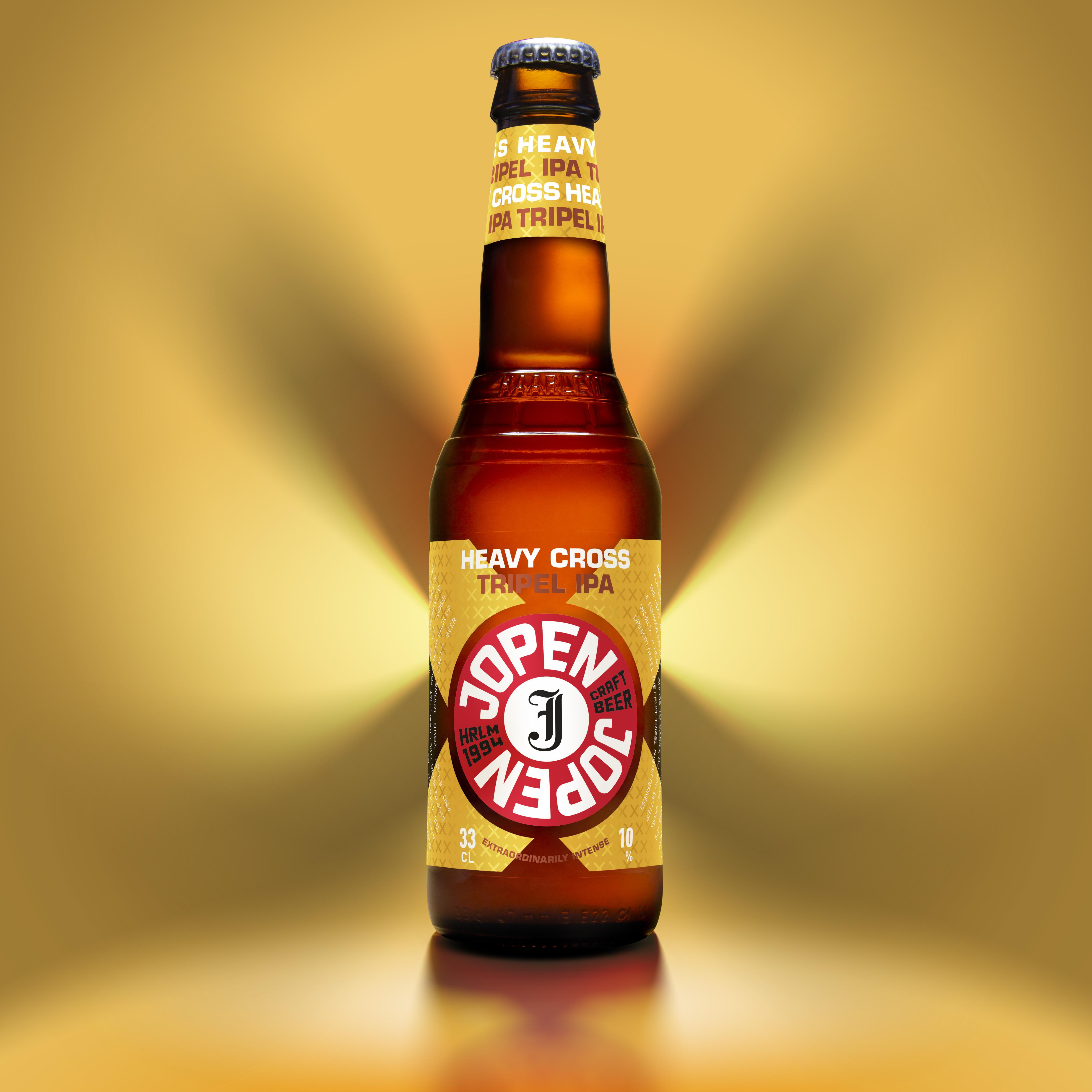 Van Heertum Design VHD Creates Jopen Heavy Cross Craft Beer