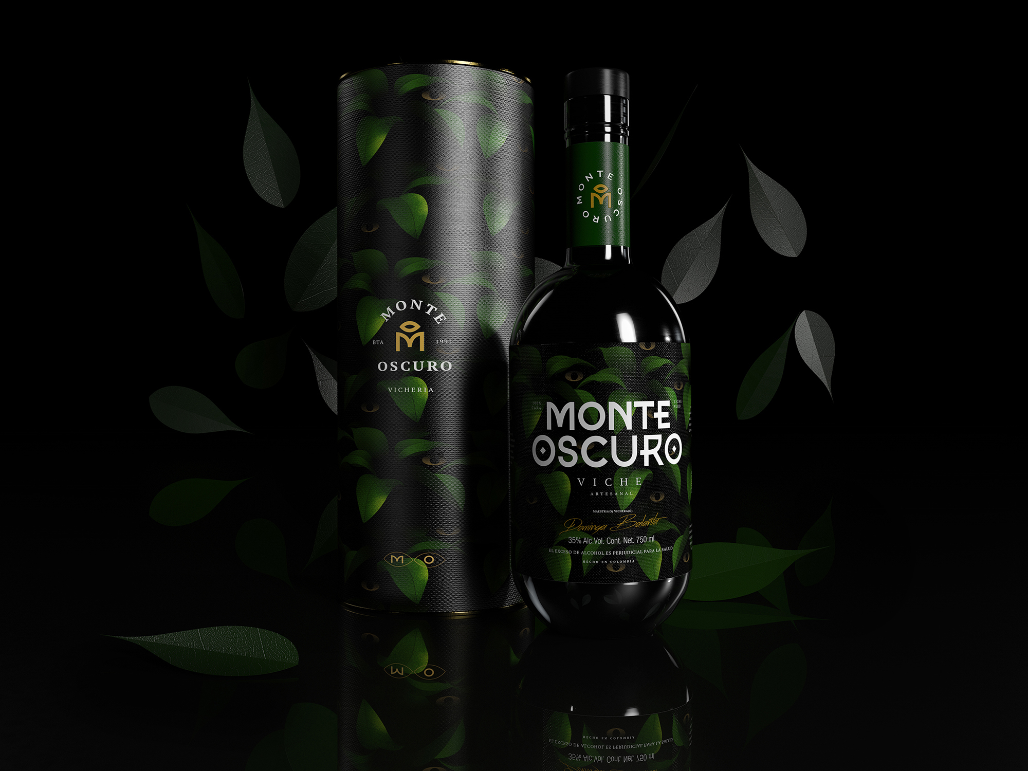 Mystical and Ancestral Monte Oscuro Branding by Venttura Studio