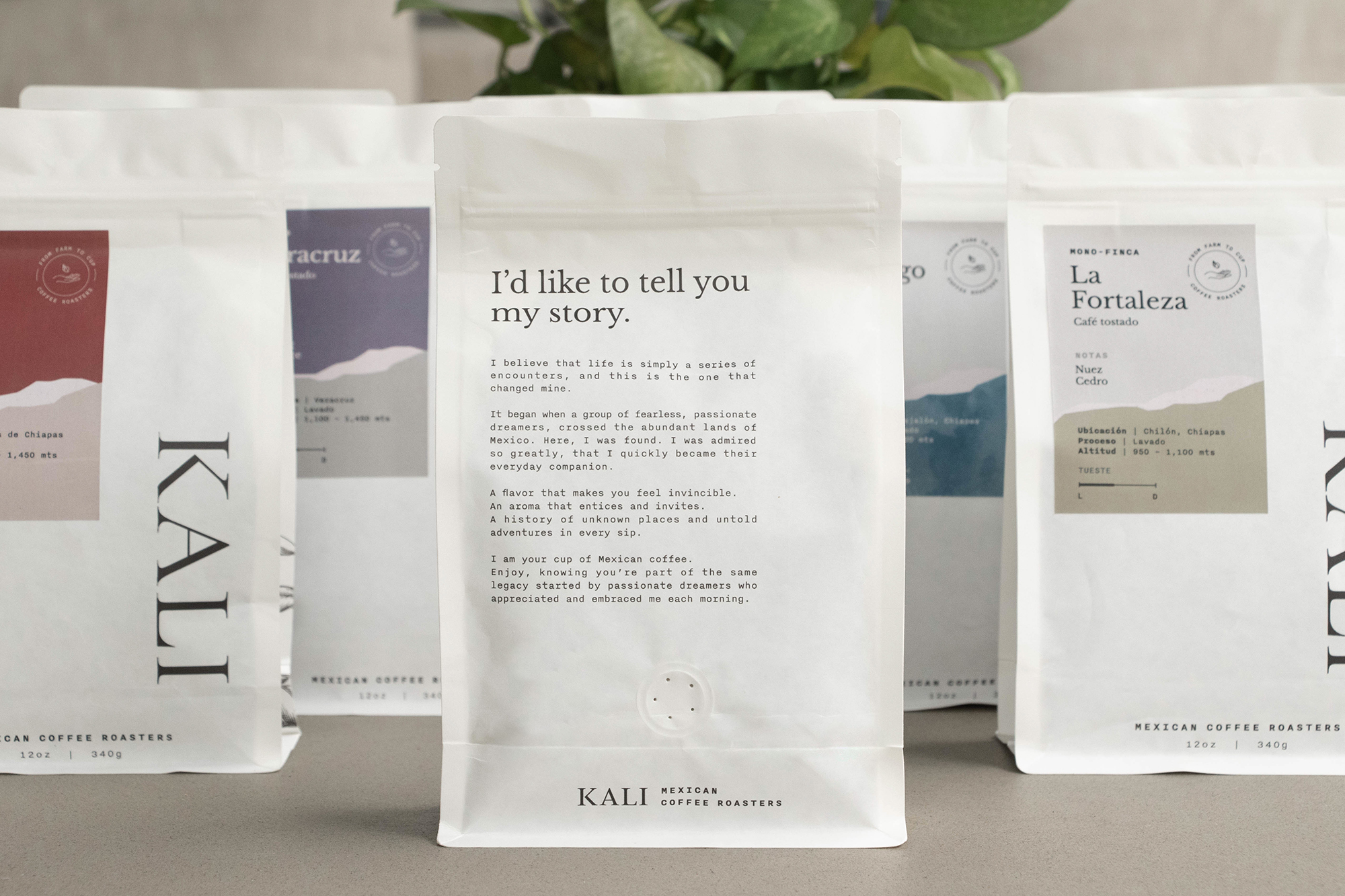 Kali Coffee Roasters In House Creative Team Launches Their New Coffee Bags World Brand Design