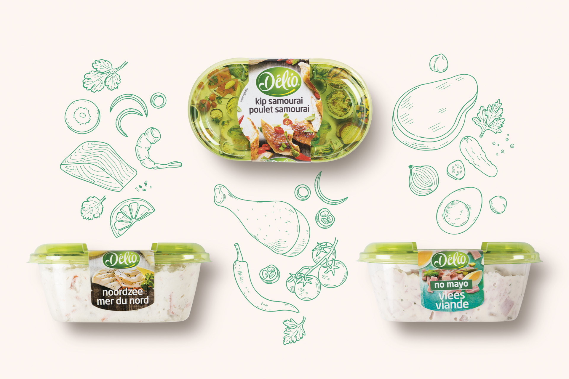 Delio – Bringing Taste Back to Their Labels With a Little Help from DesignRepublic