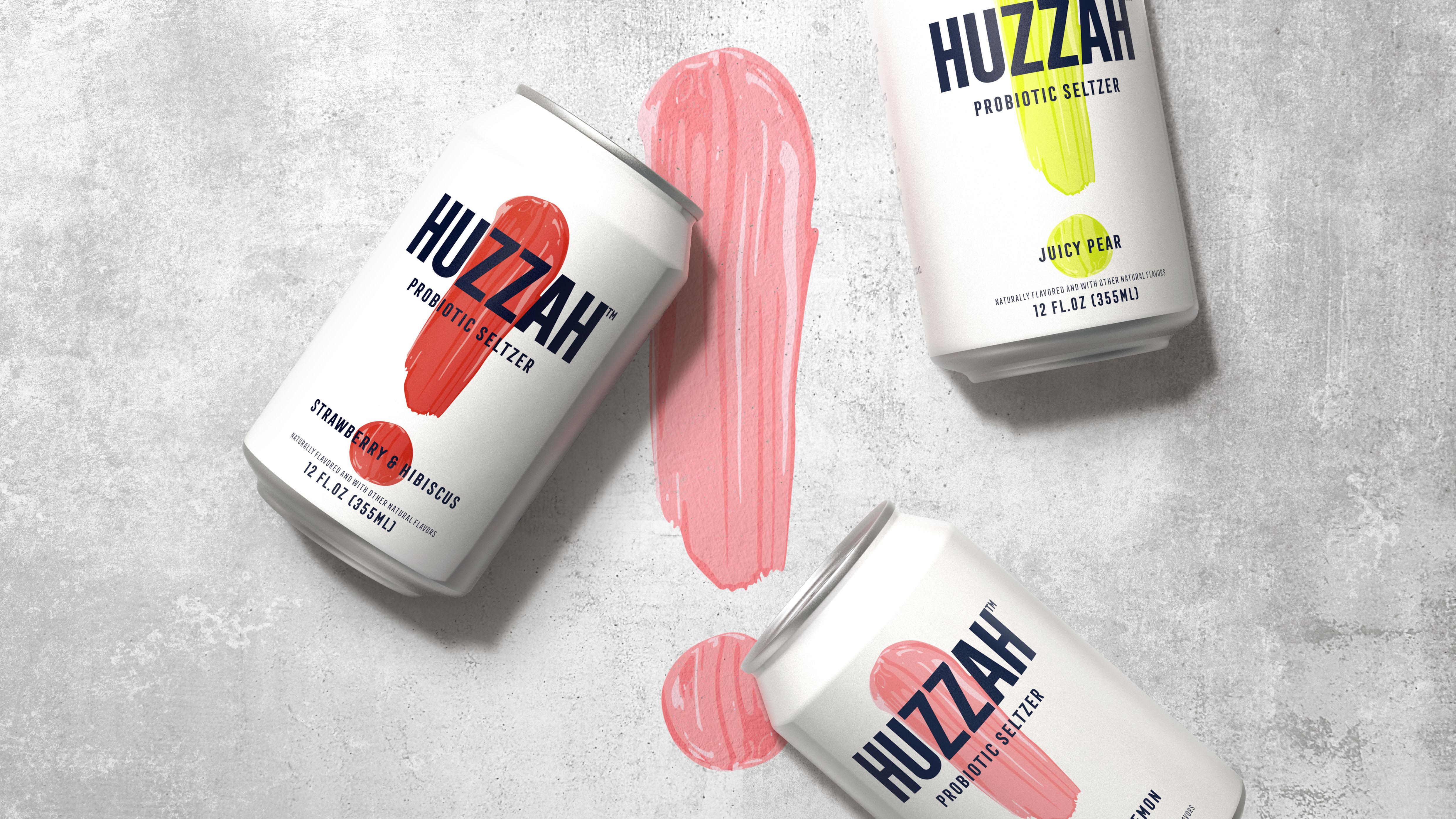 BrandOpus Creates HUZZAH! A New Non-Alcoholic Probiotic Seltzer