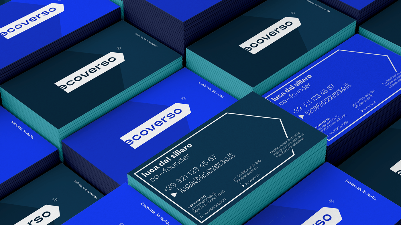 All Together is More Sustainable, Ecoverso Branding and UX/UI Design by onlab