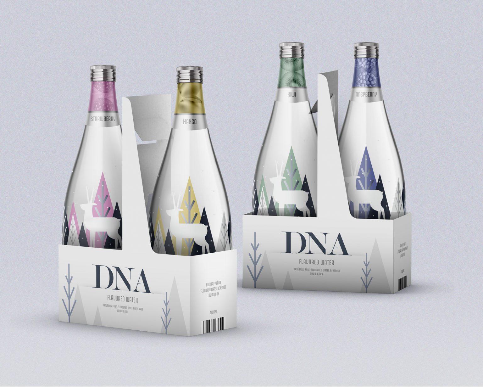 Dezio Media Solutions Designed Flavoured Water Bottle Design