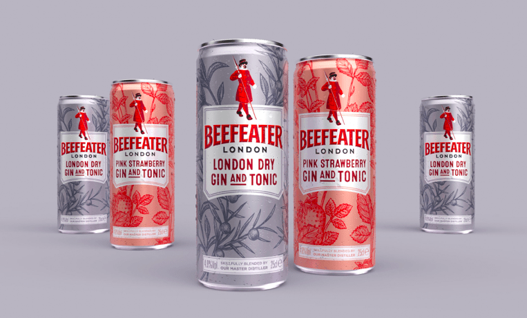 Boundless Brand Design – Beefeater Ready to Drink Innovation