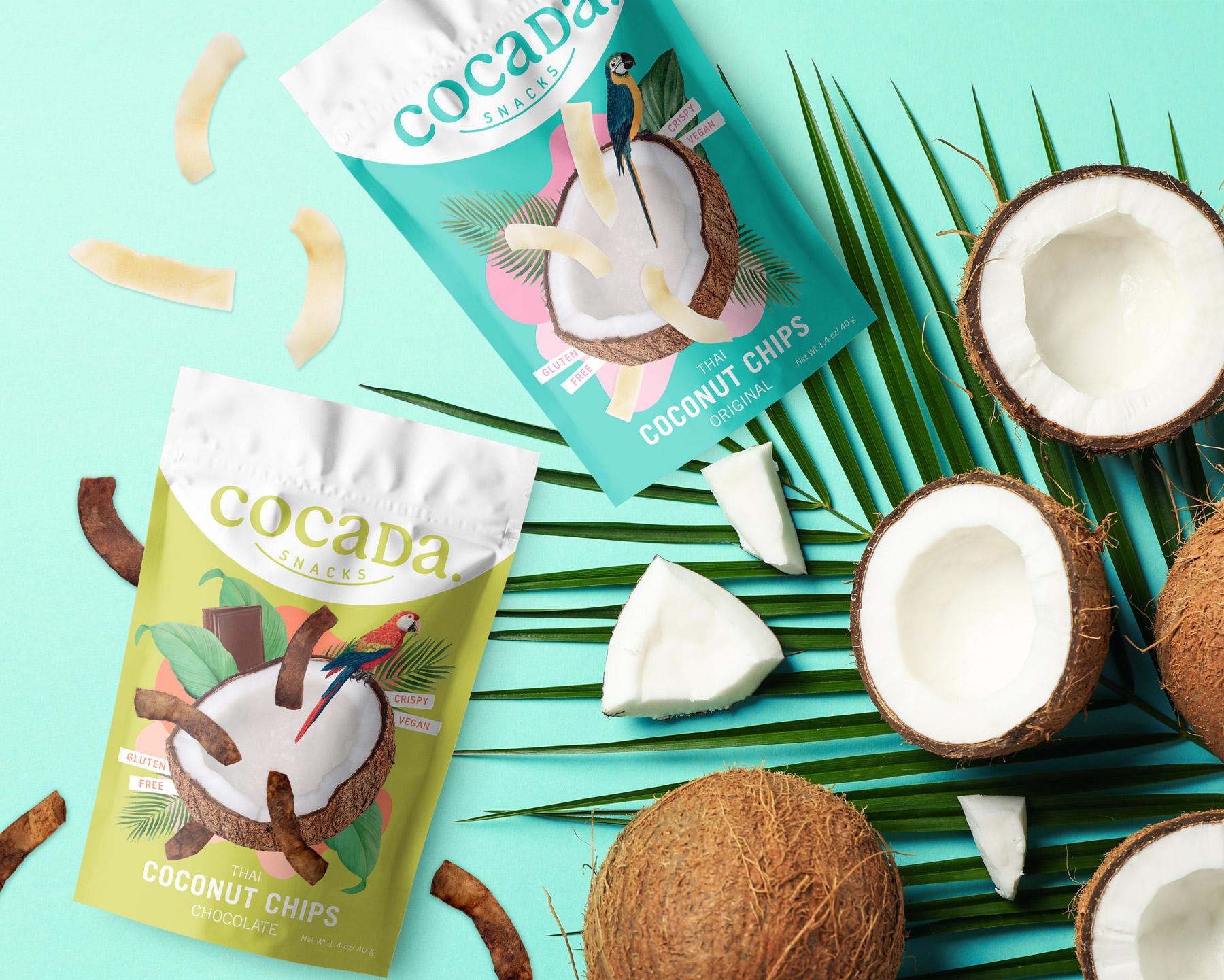 Mara Rodríguez Designs New Coconut Snacks Packaging for Cocada Snacks