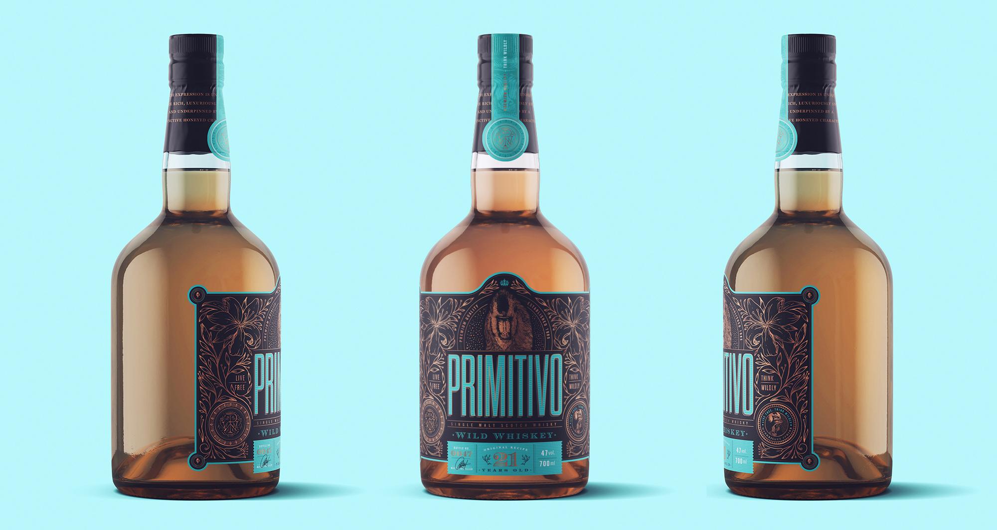 Emi Renzi Creates a Concept for Premium Scotch Whiskey