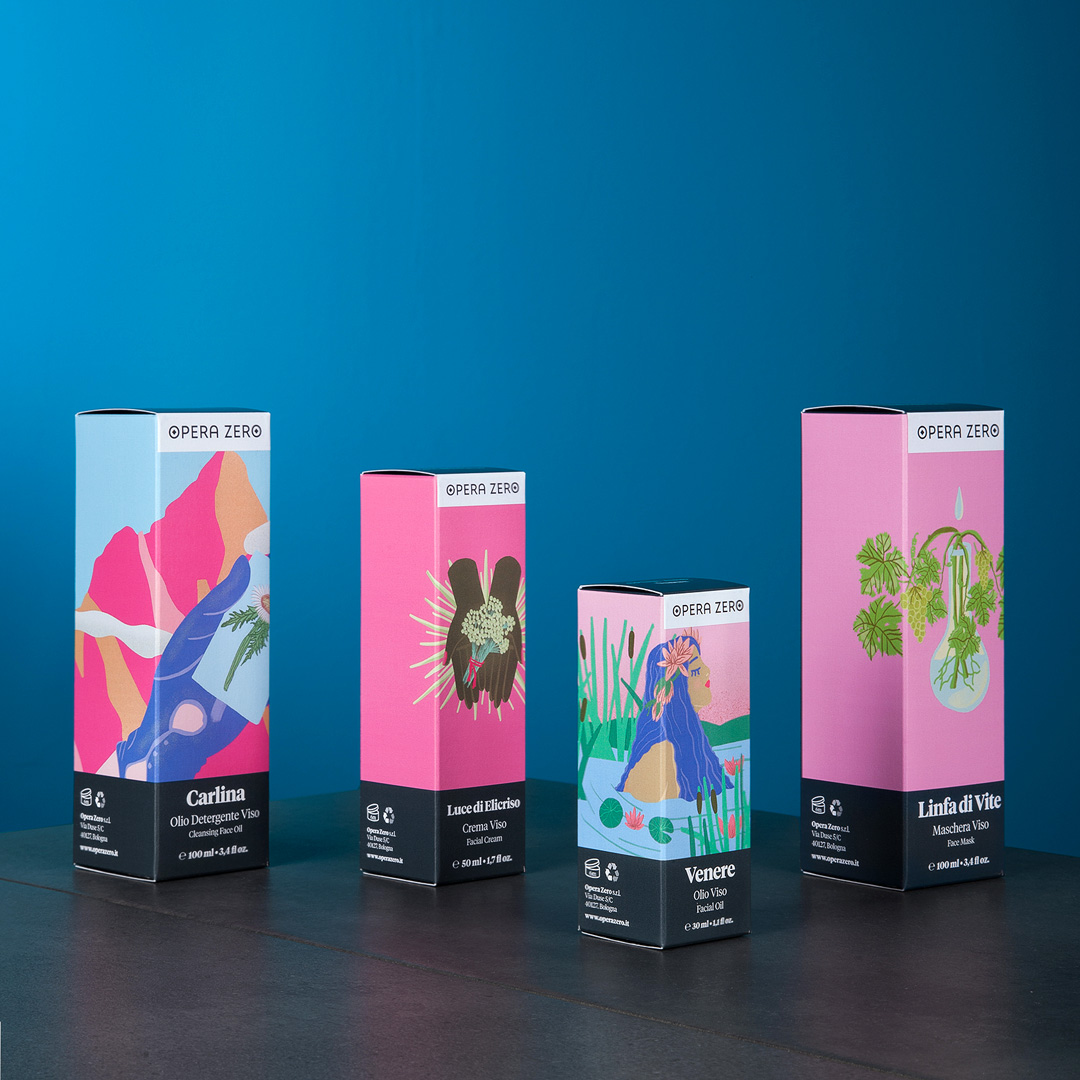 Mol Design Studio Creates the New Packaging Deign for Opera Zero