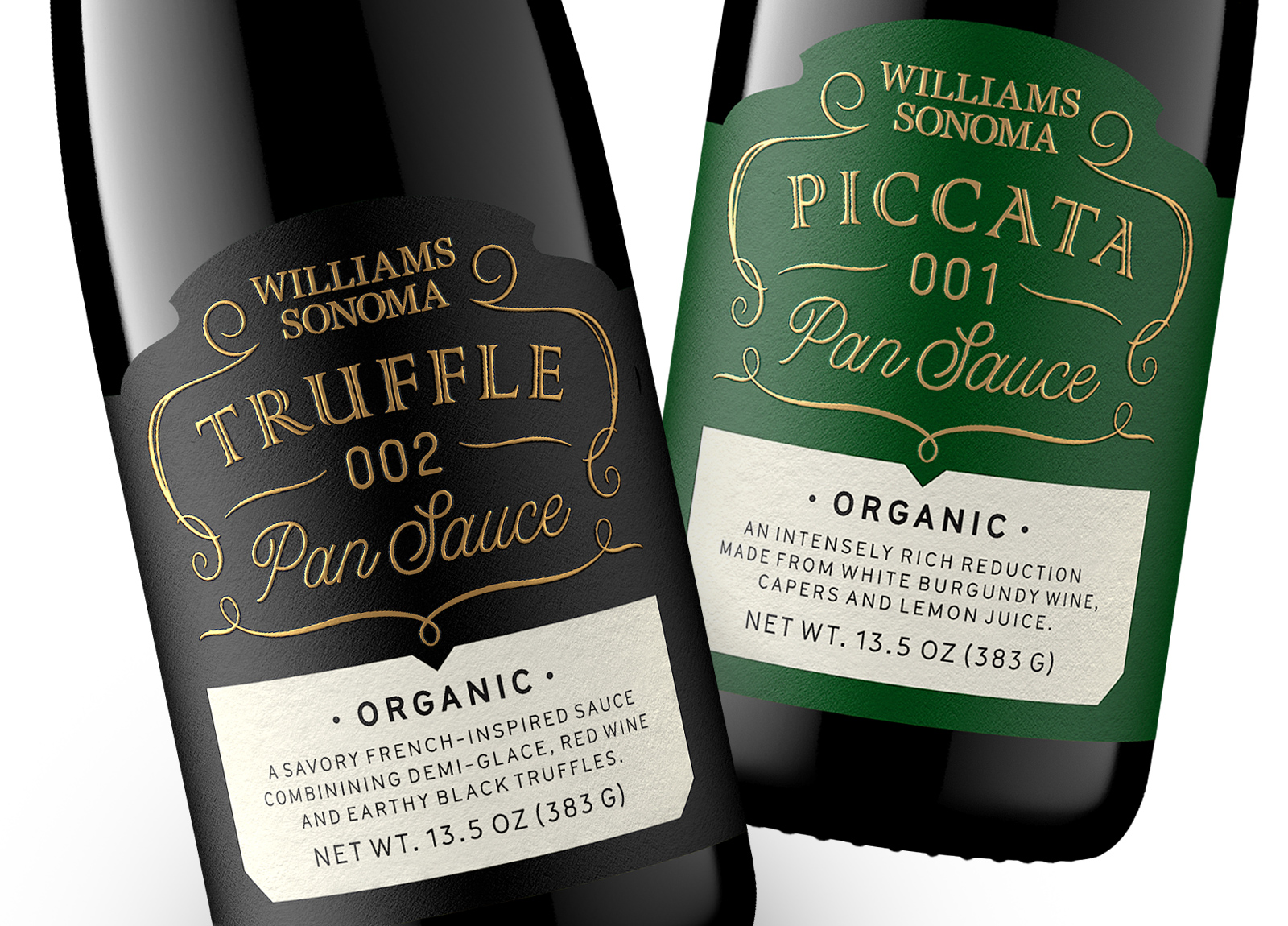 Pavement Redesigns French-inspired Sauces for Williams Sonoma