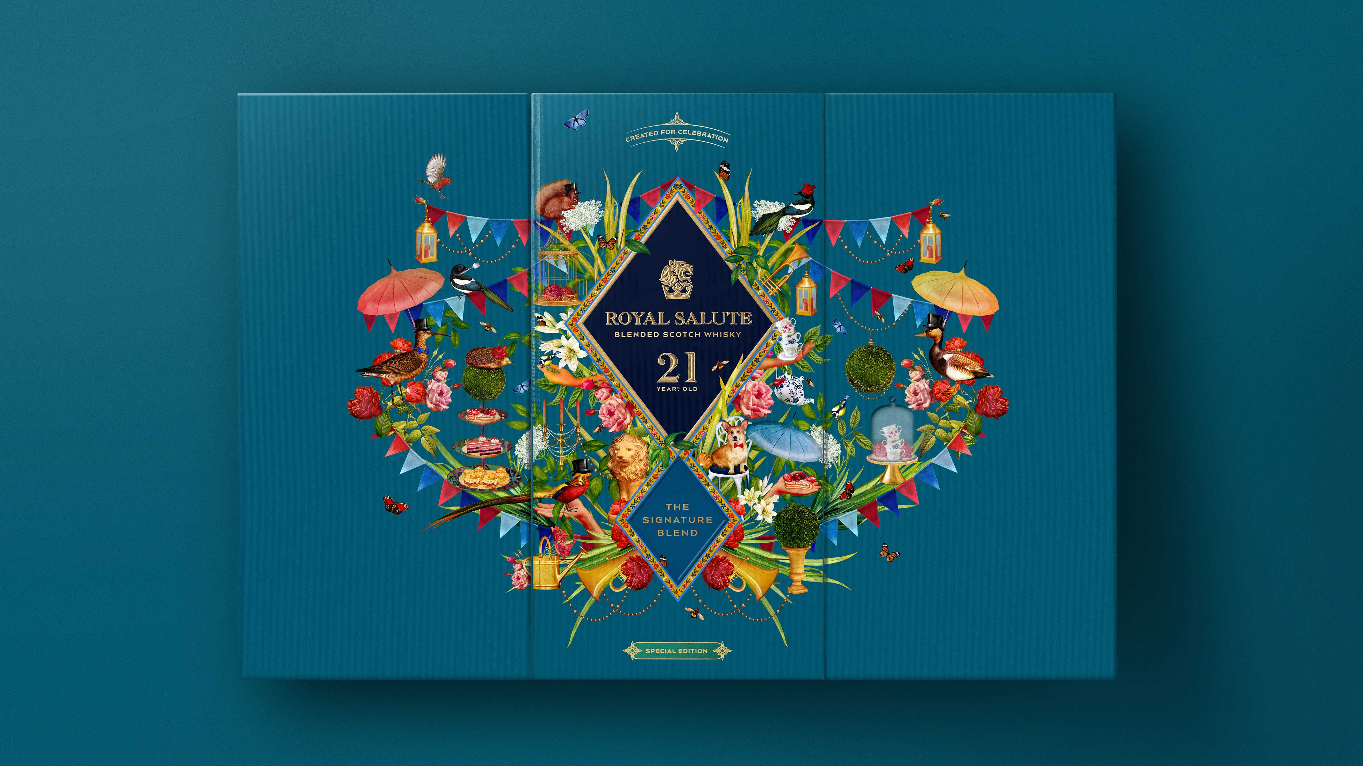 Boundless Brand Design Agency Create Royal Salute, 21 Year Celebration Edition