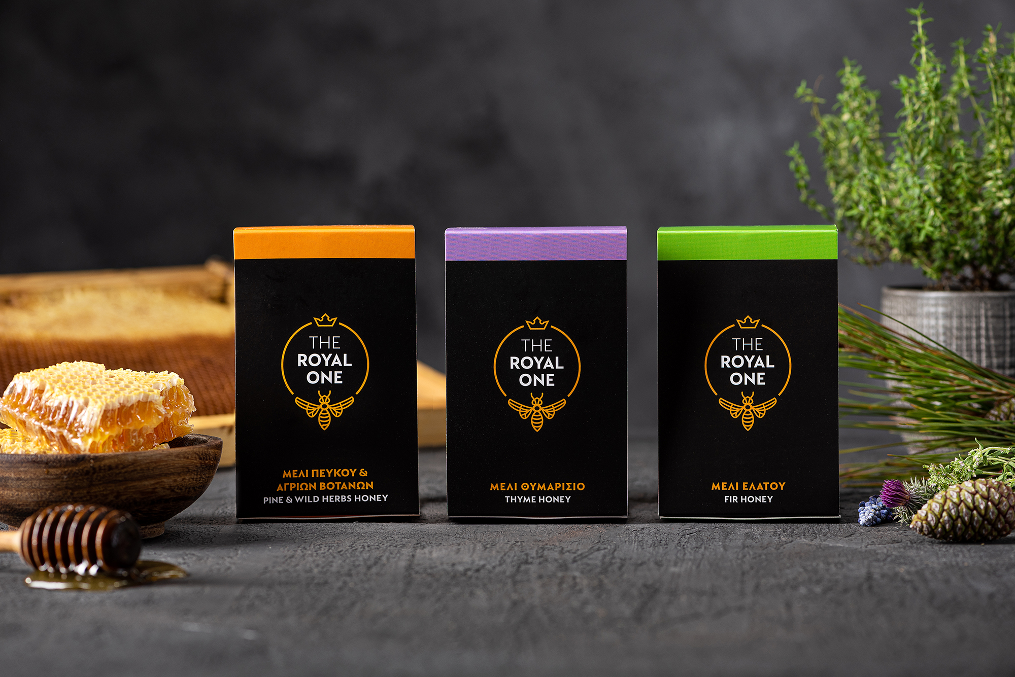 Elena Anagnostelou Creative Studio Create The Royal One Greek Honey