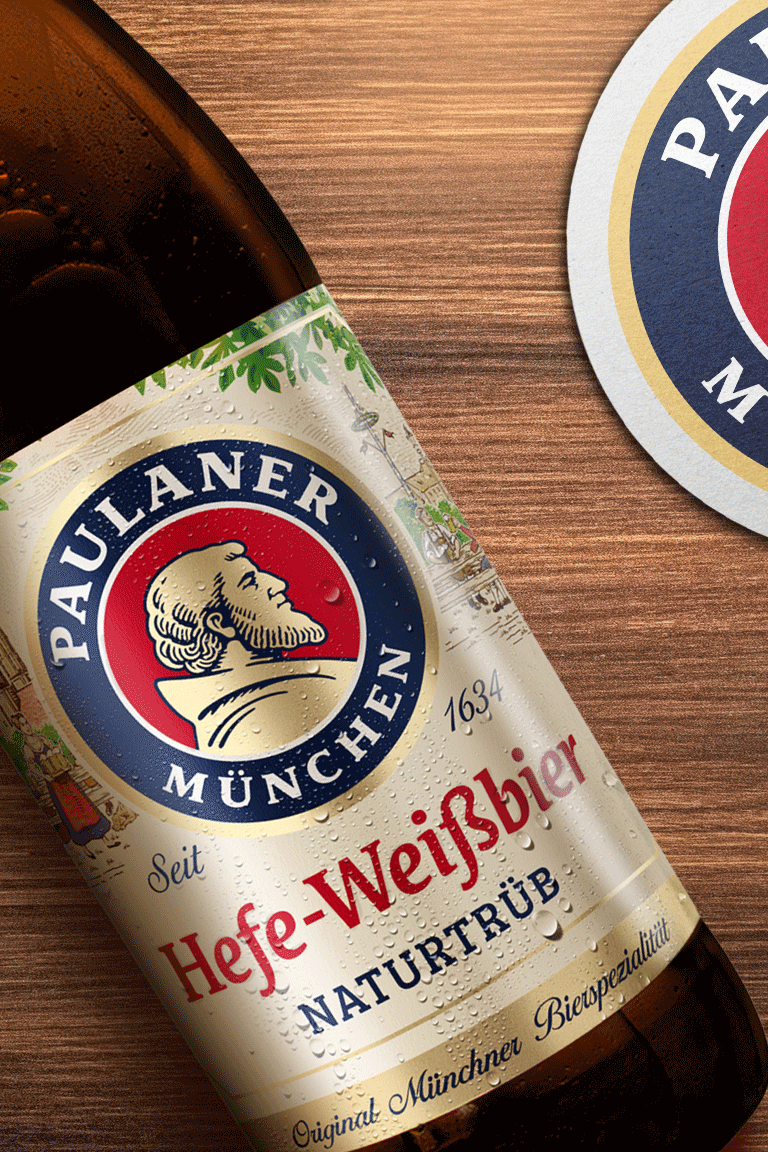 Higgins Packaging Design Helps Paulaner Brewery Relaunch