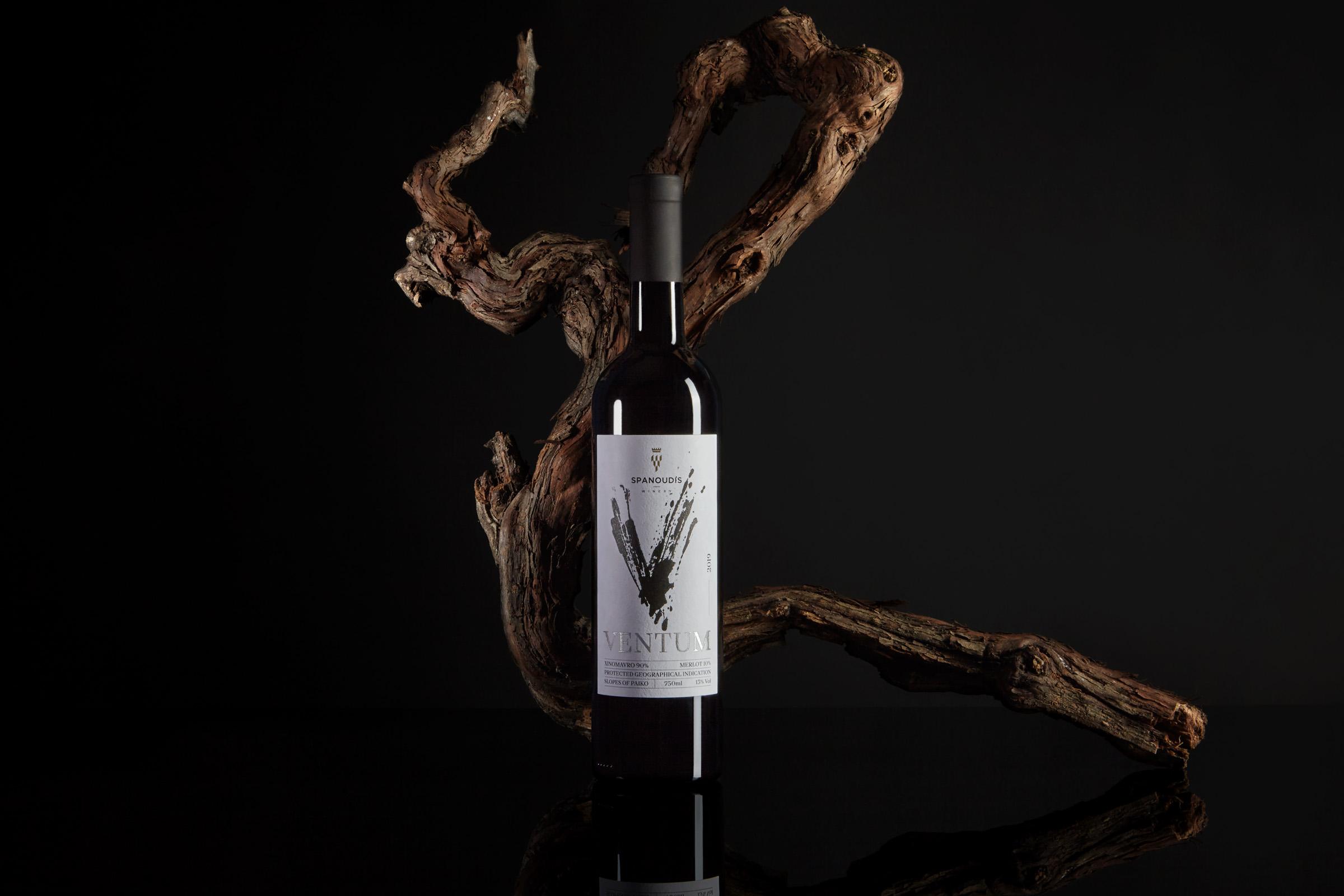 Ventum Wine Label Design by Cursor Design Studio