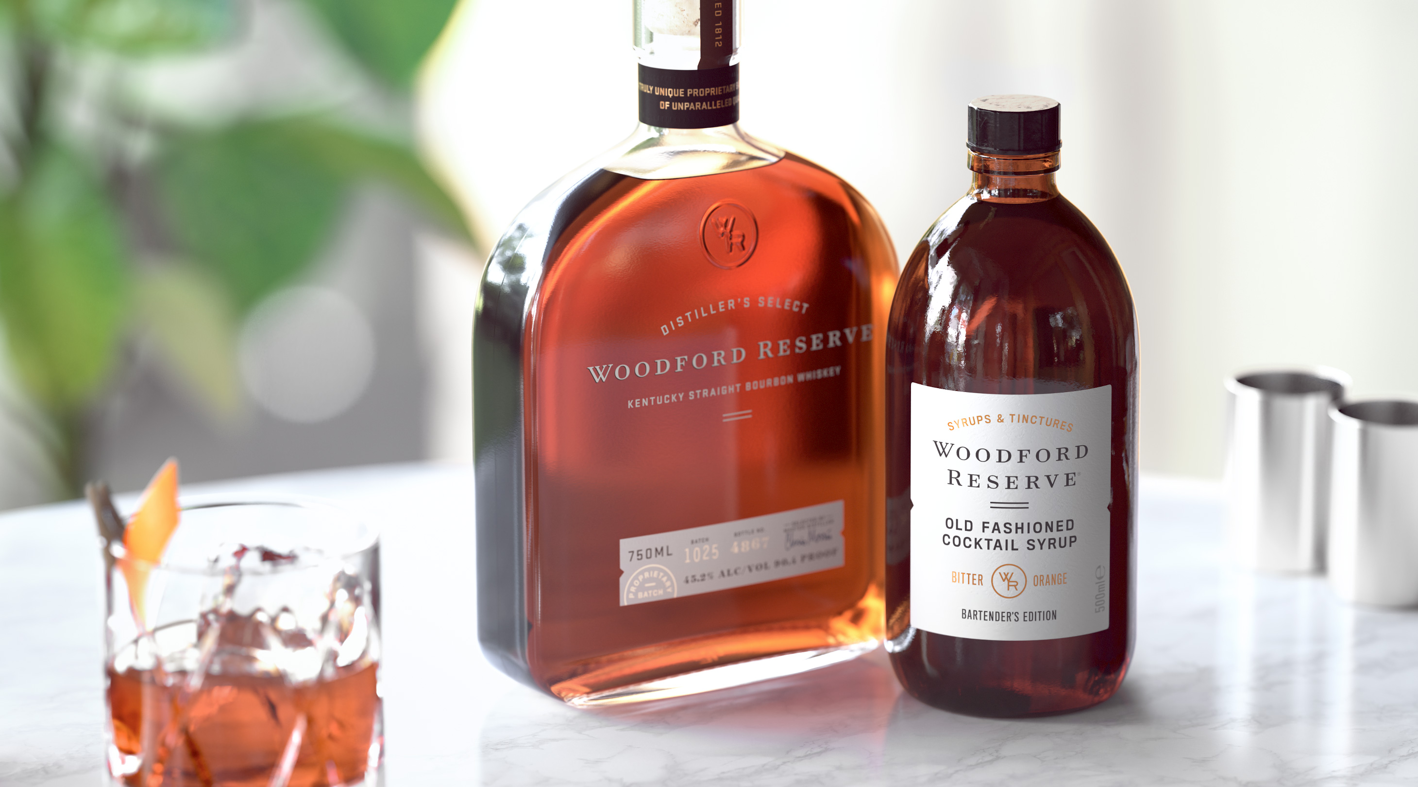 Woodford Reserve Simple Syrup Packaging Design Middday Studio