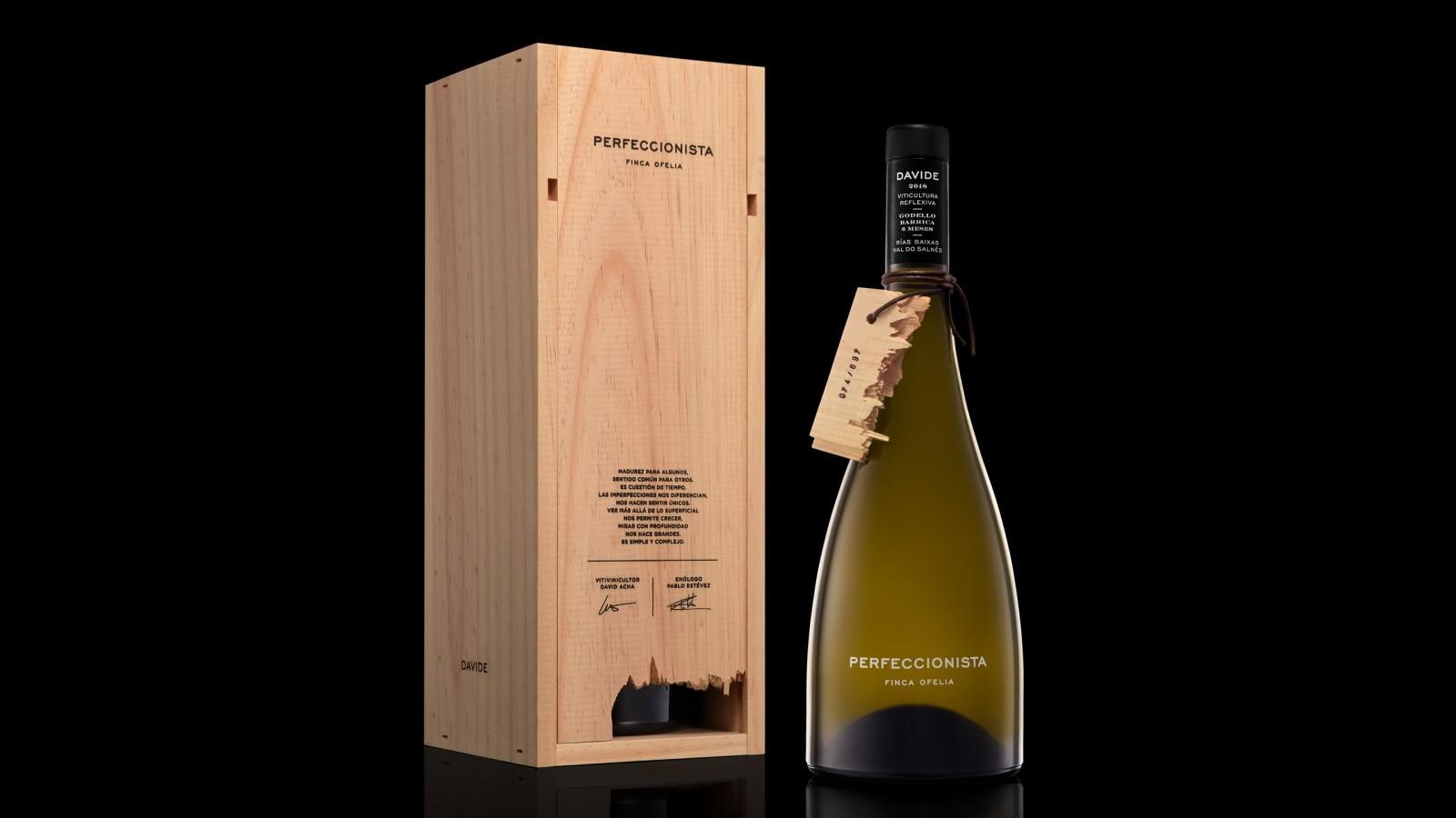 Roberto Núñez Studio Creates Packaging Design for Perfeccionista Limited Edition Premium Wine