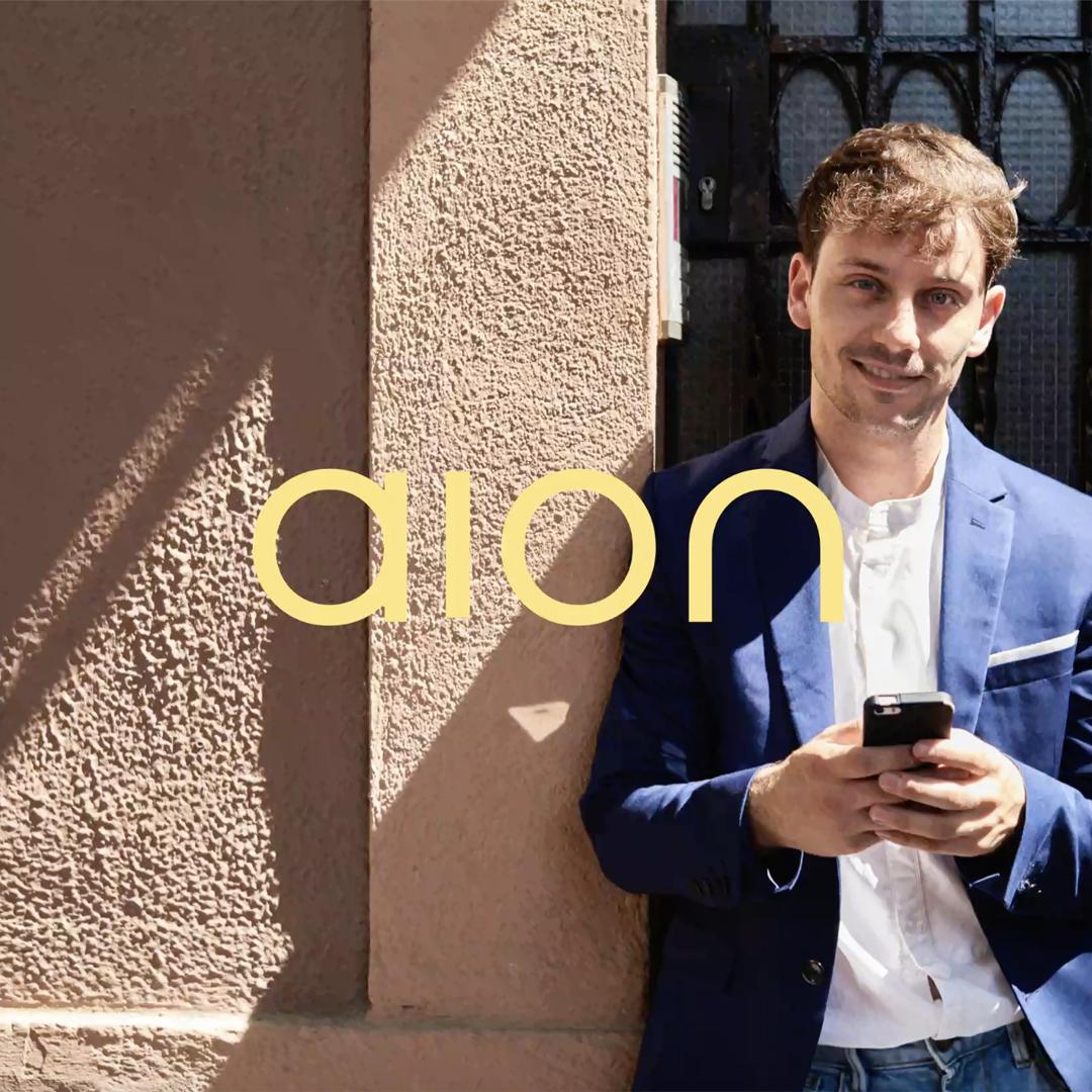 Saffron Brand Consultants Create the Brand Identity for Aion Bank