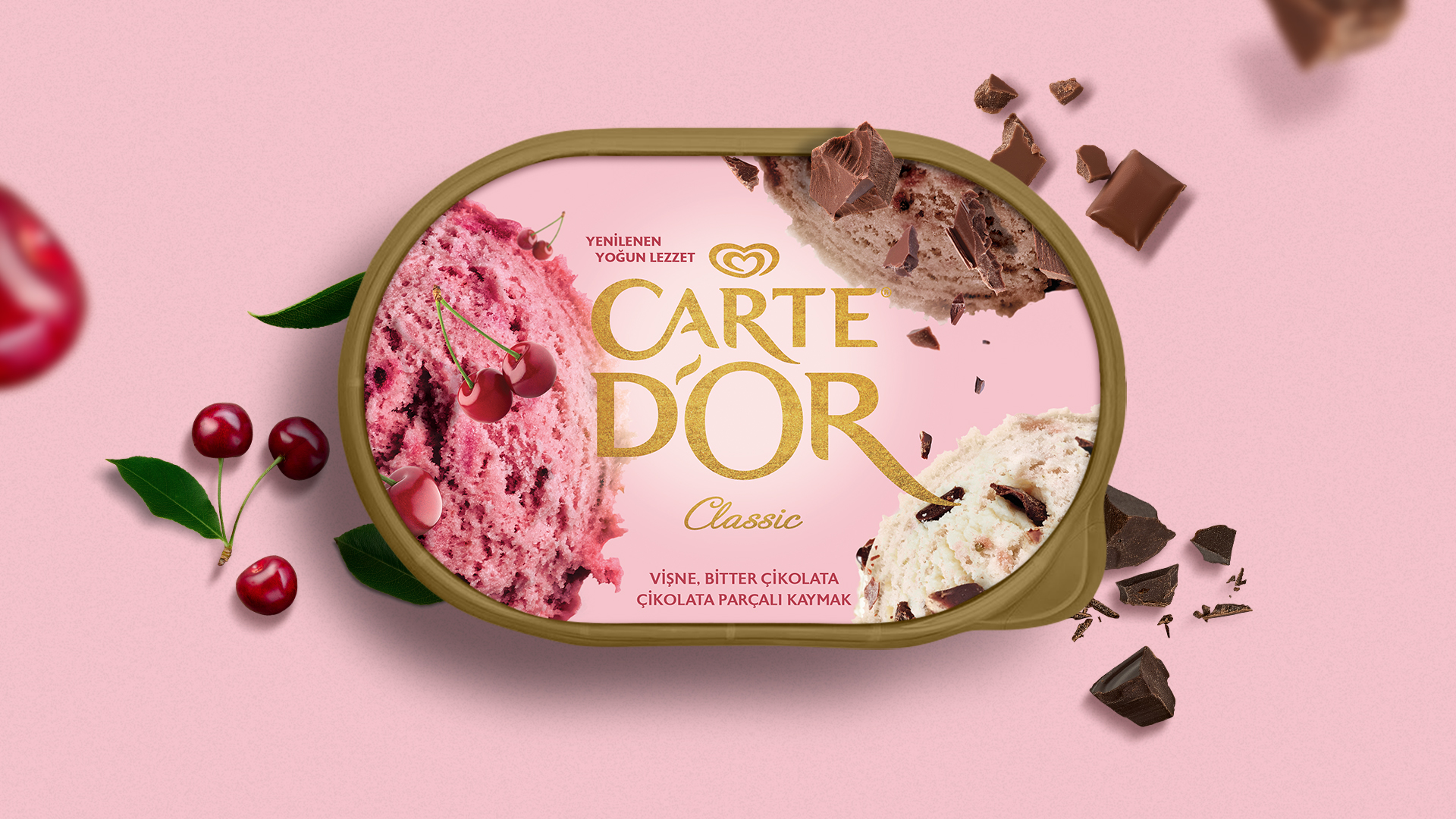 Ogilvy Istanbul Create New Carte d'Or Packaging Design