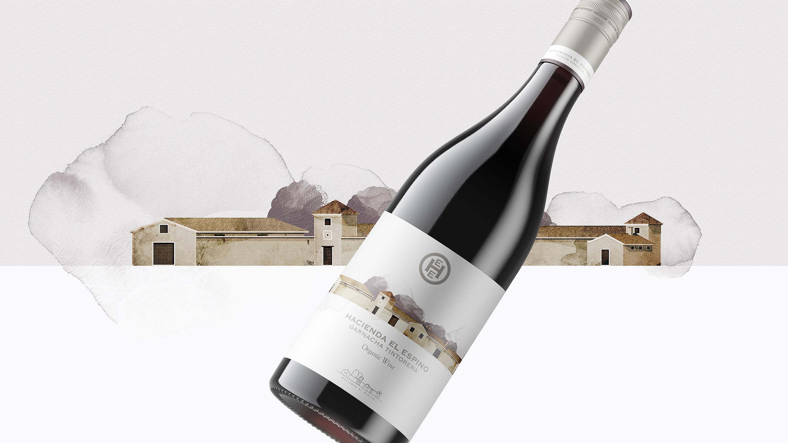 Armoder Design New Wine Hacienda El Espino Garnacha Tintorera