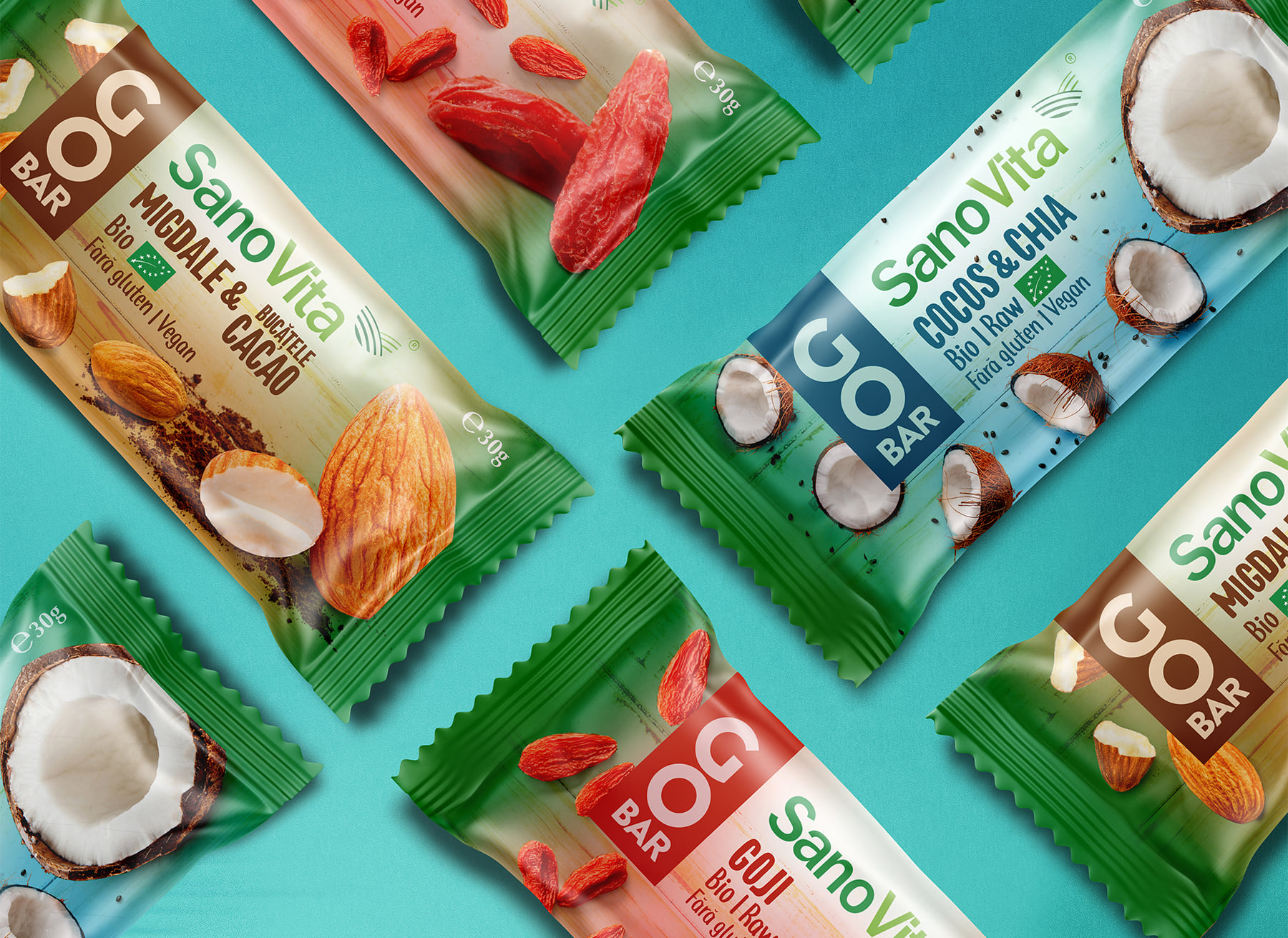 BroHouse Creates New Packaging Designs for a Tasty and Healthy Bars