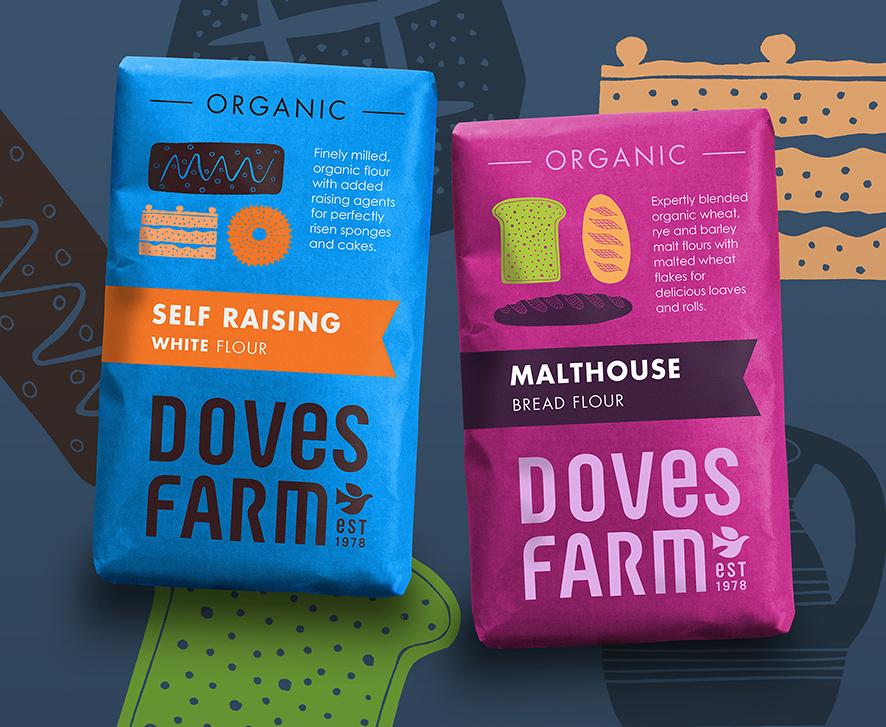Studio h Creates New Branding and Packaging Design for Doves Farm