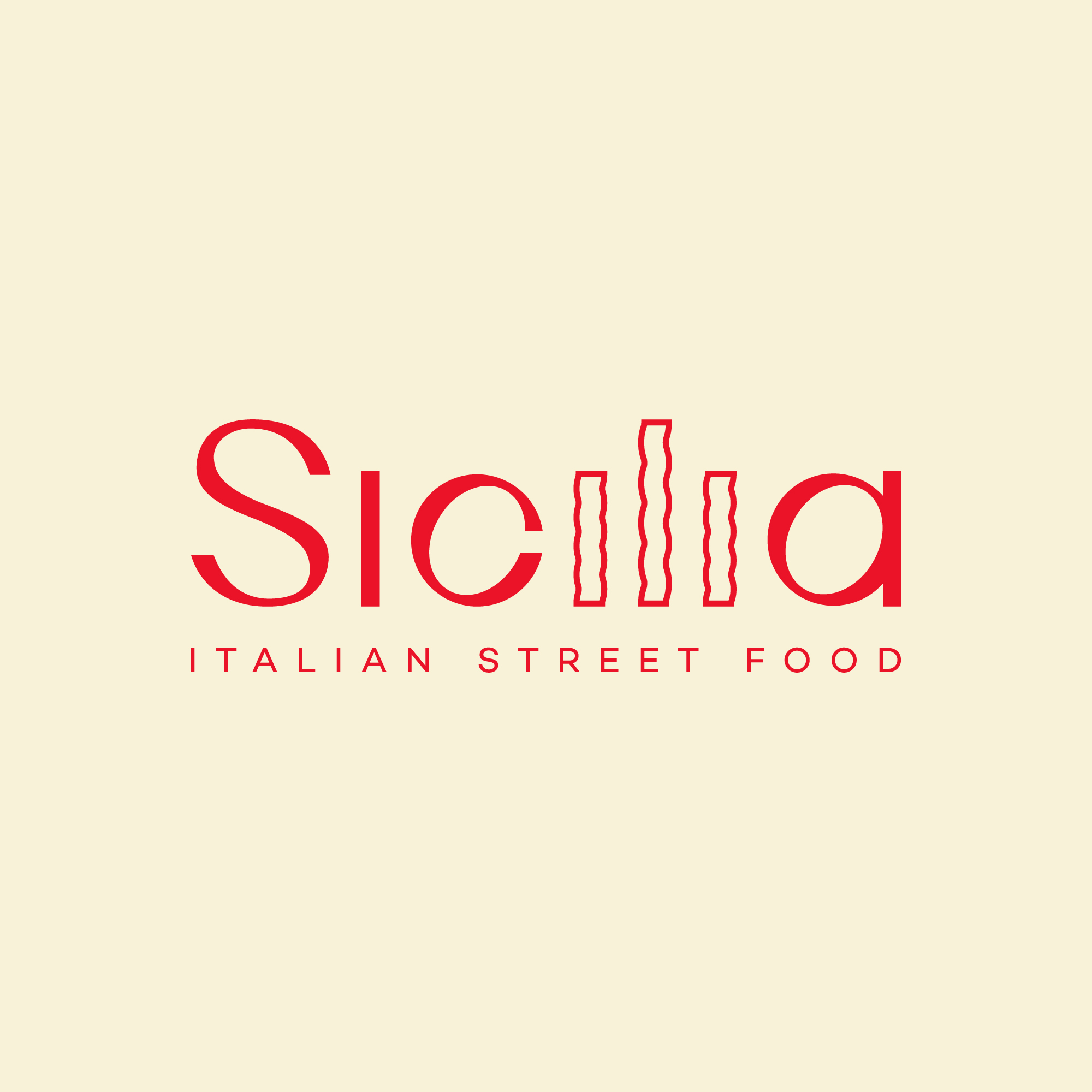 Sicilia Italian Street Food – Brand Design by Andrijana Miladinovic