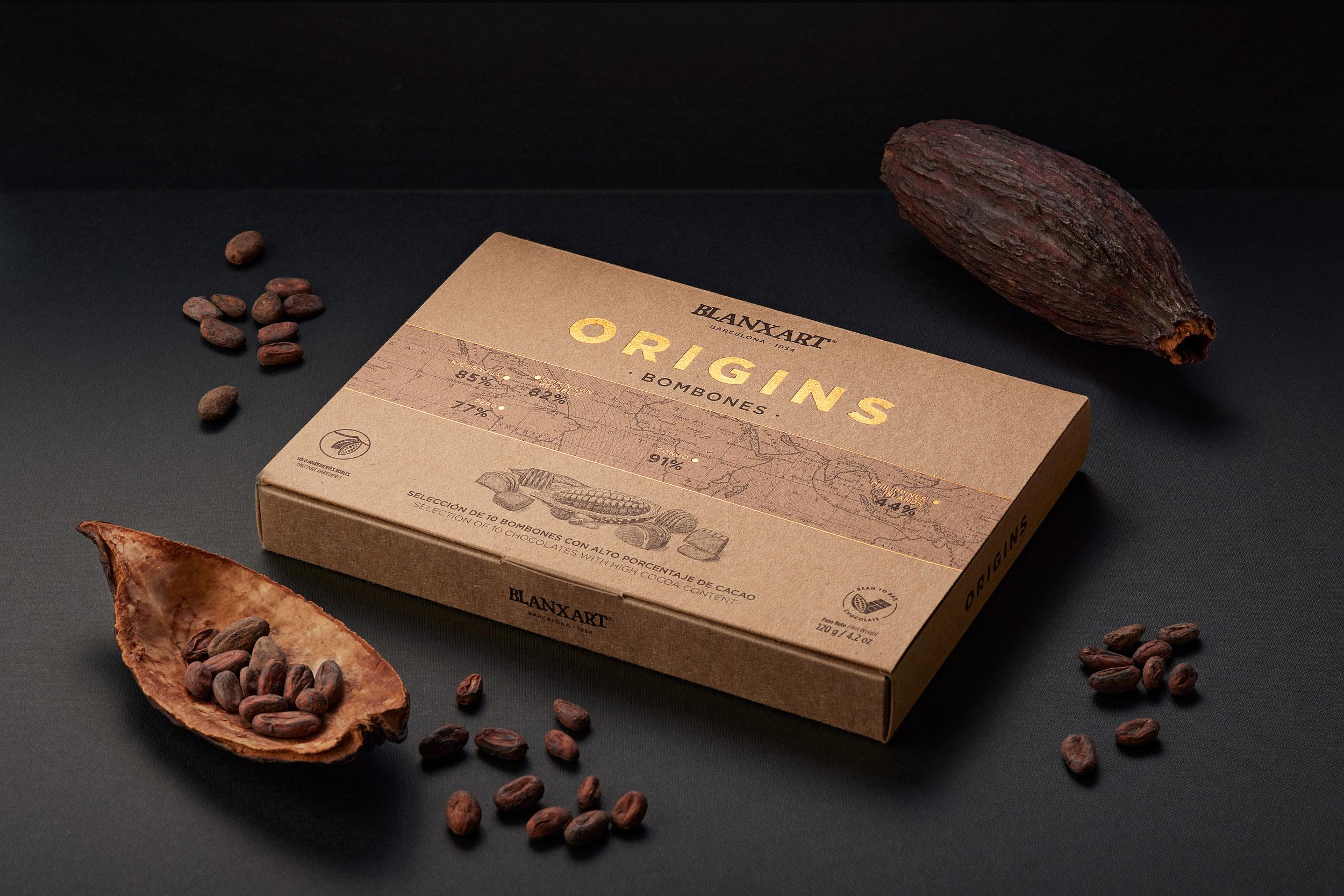 Blanxart Luxury Chocolates New Range Designed by Bulldog Studio