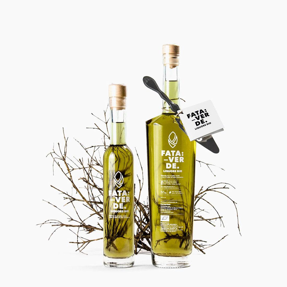 Numeroquattro Create Herbartem's Liquors Packaging Design