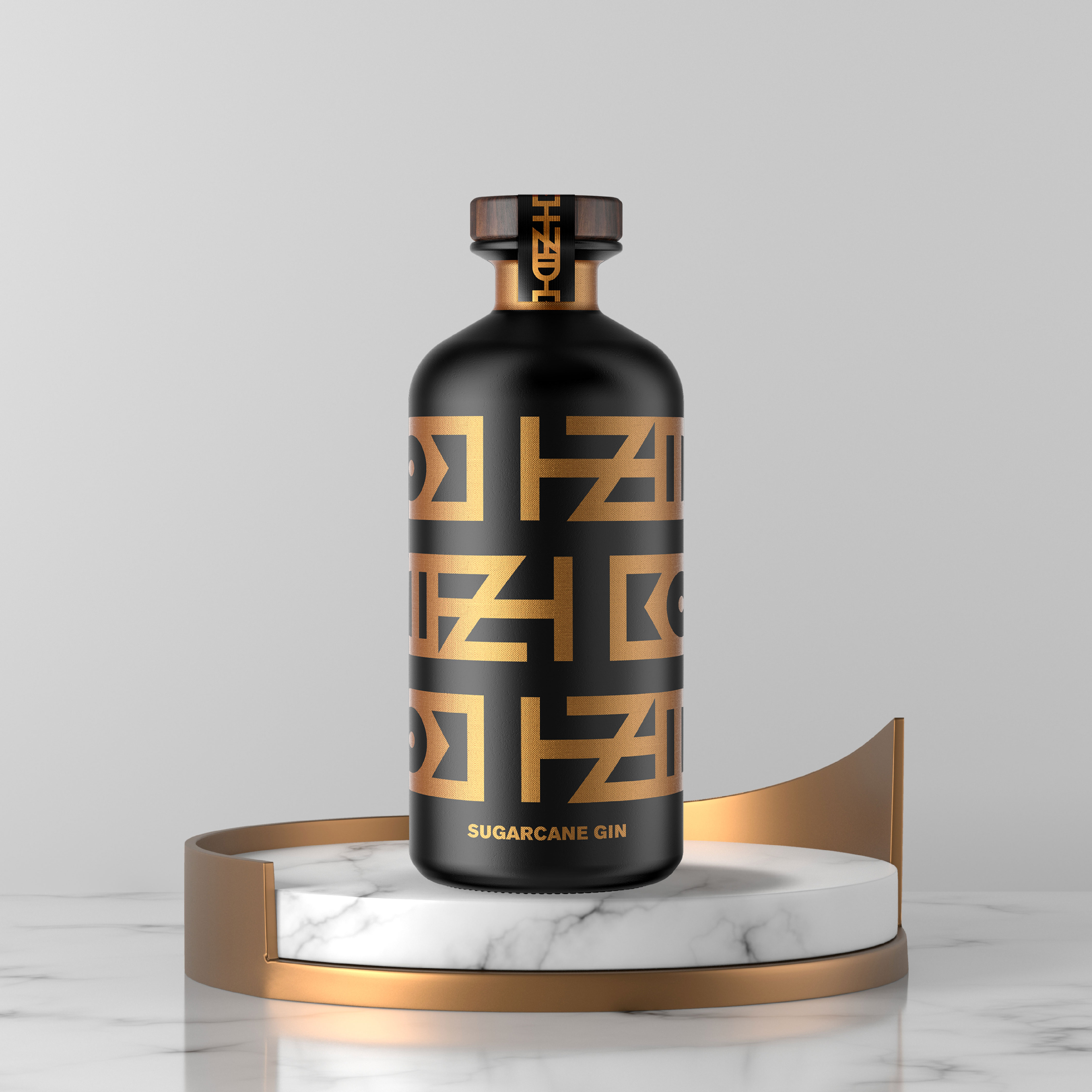 Mister Wyets Create Packaging Design for Premium African Sugarcane Gin