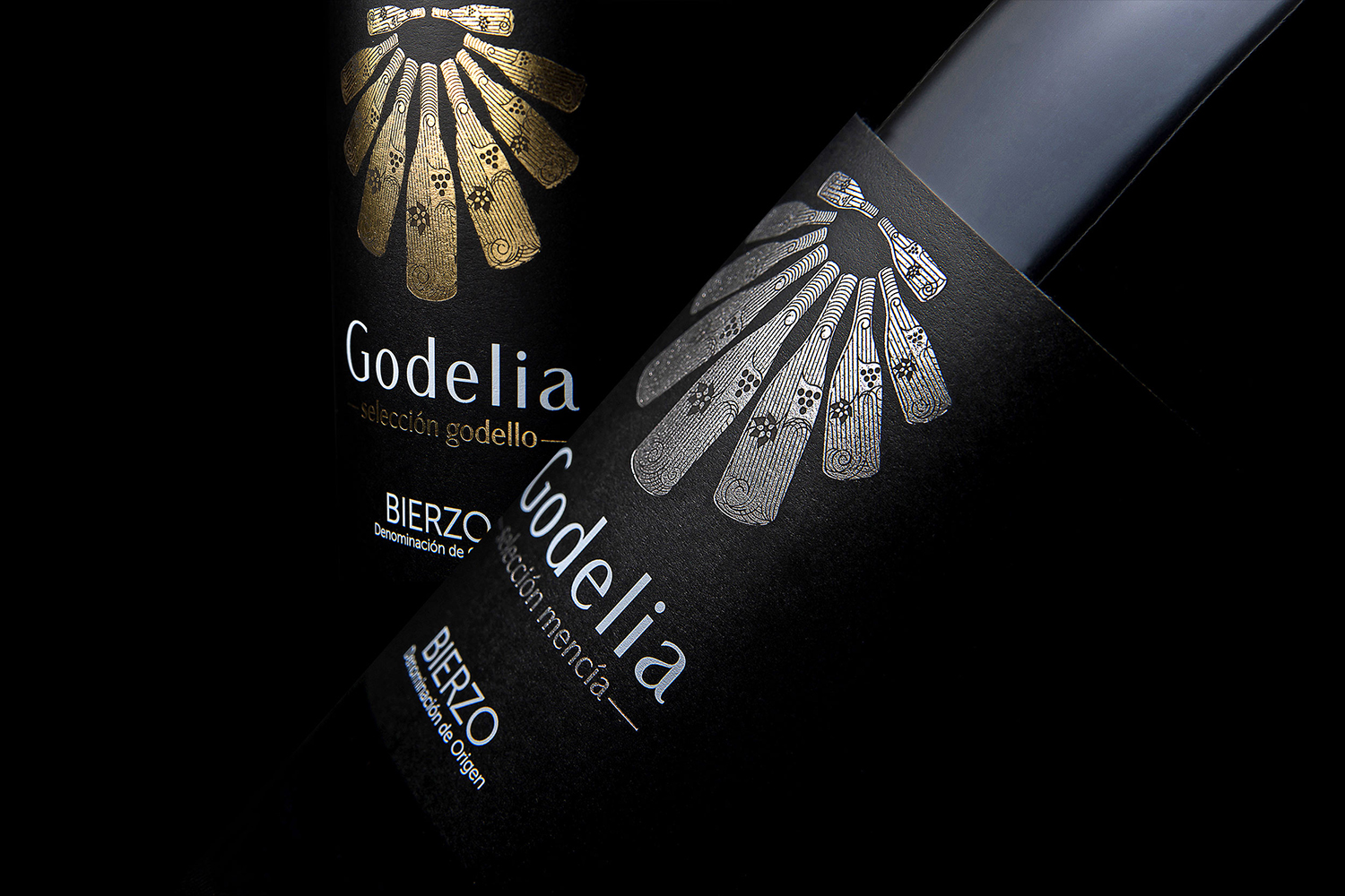 Godelia Selección Limited Production Wine Labels Designed by Salvi Design