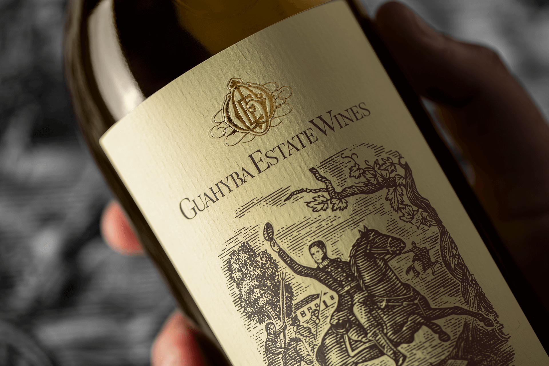 Branding and Packaging Design for Guahyba Estate Wines Designed by HolyStudio