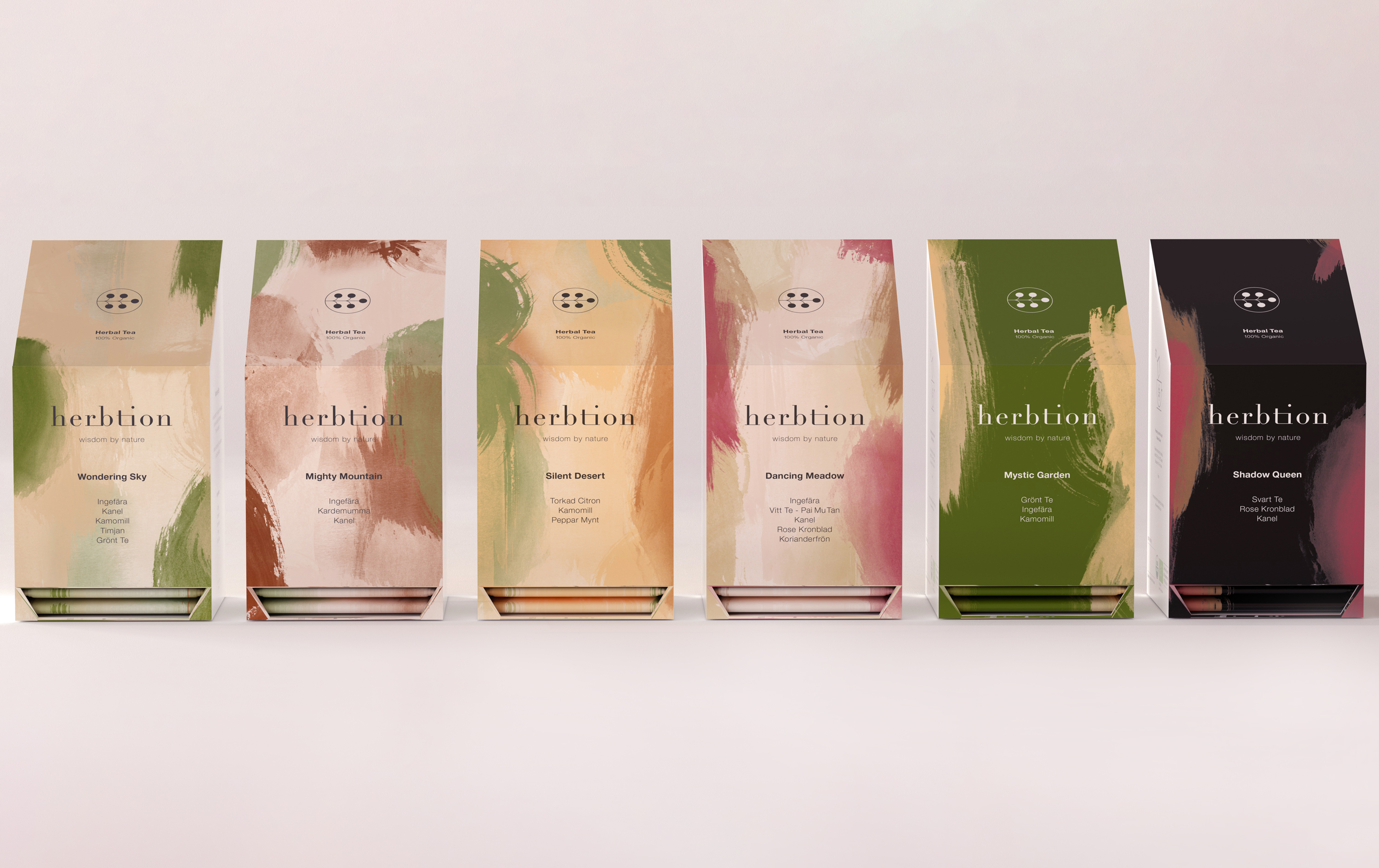 Herbtion Brand Identity and Packaging Design Created by Studio Koly