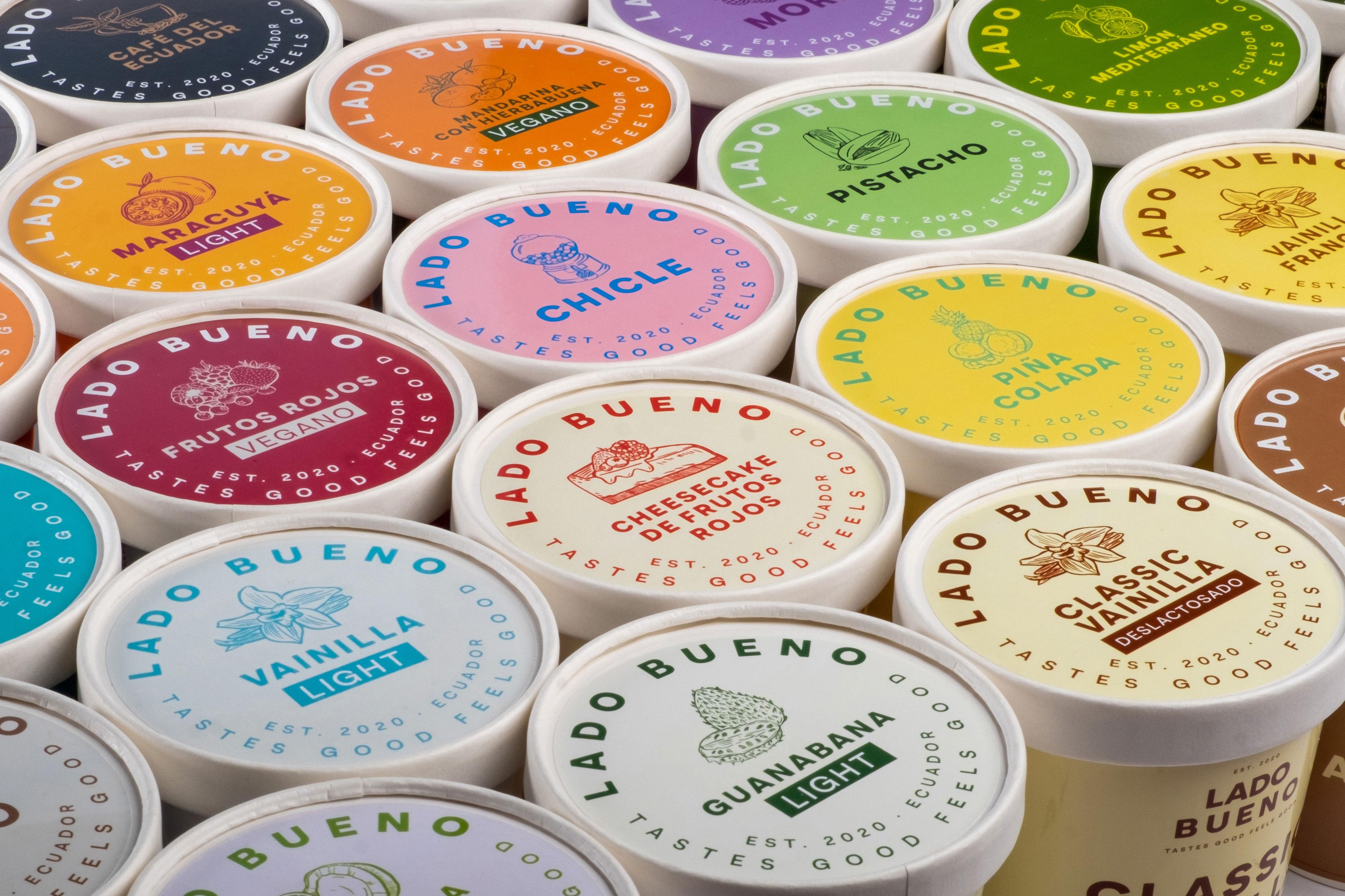 Ecuadorean Premium Artisan Ice Cream Designed by Dabrand