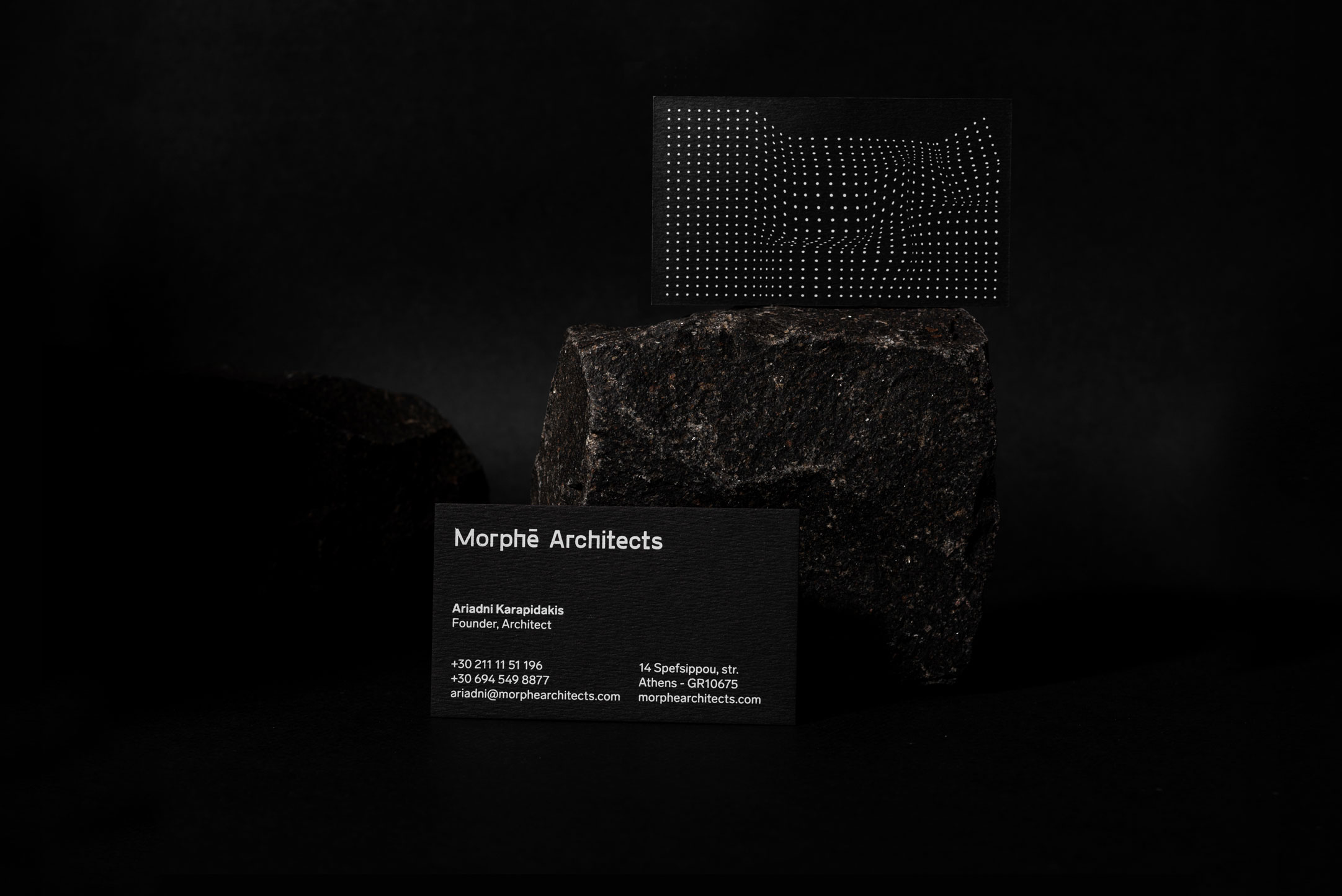 Morphē Architects Identity Design Created by Faze Design Studio