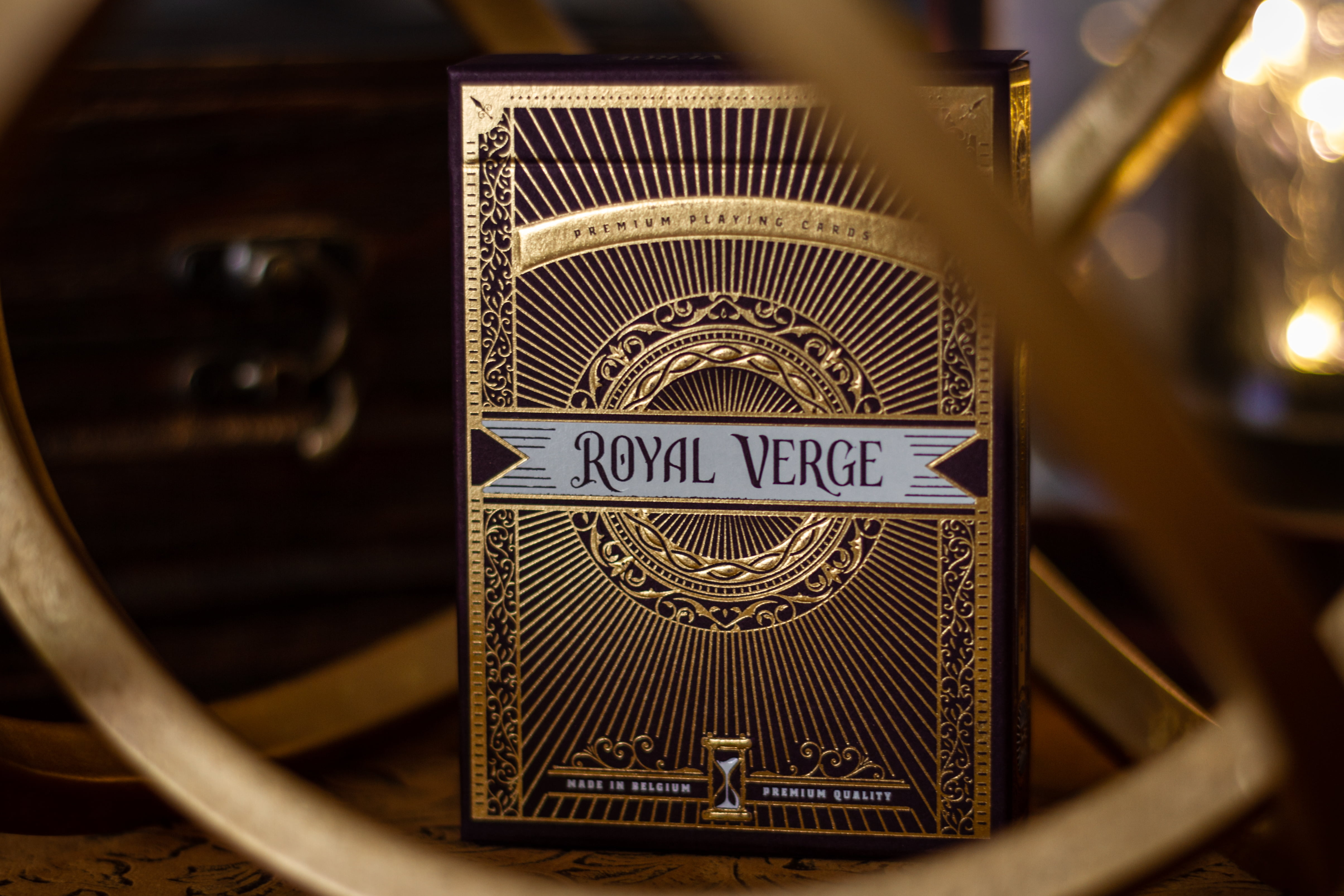 Royal Verge Luxury and Premium Playing Cards Inspired by Victorian Era