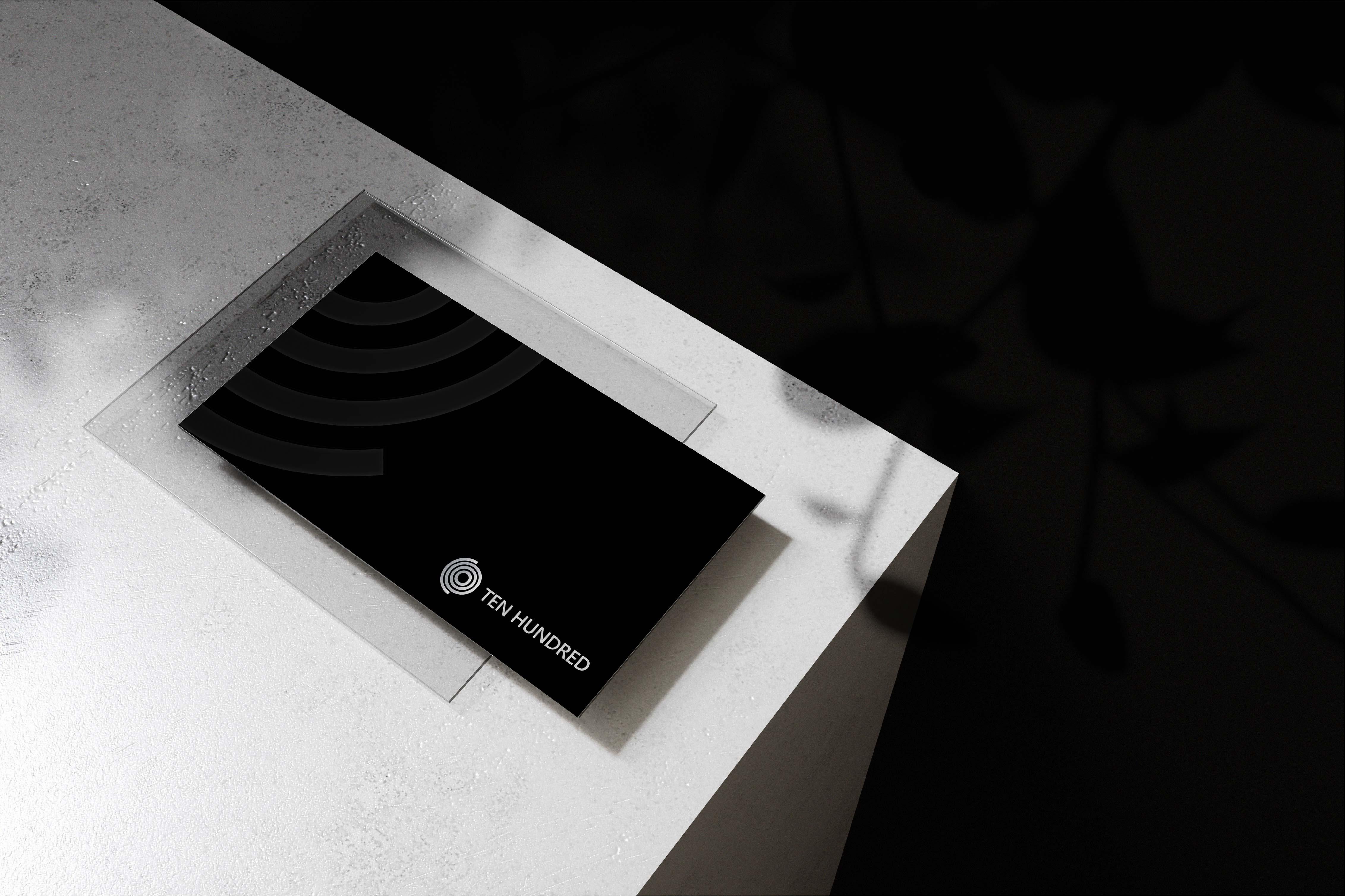 Ten Hundred Brand Identity Design Created by khaled Hosney