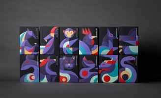 12 Spirits of Darkness Art Toys and T-shirt Packaging Design Creative by InSpace Creative