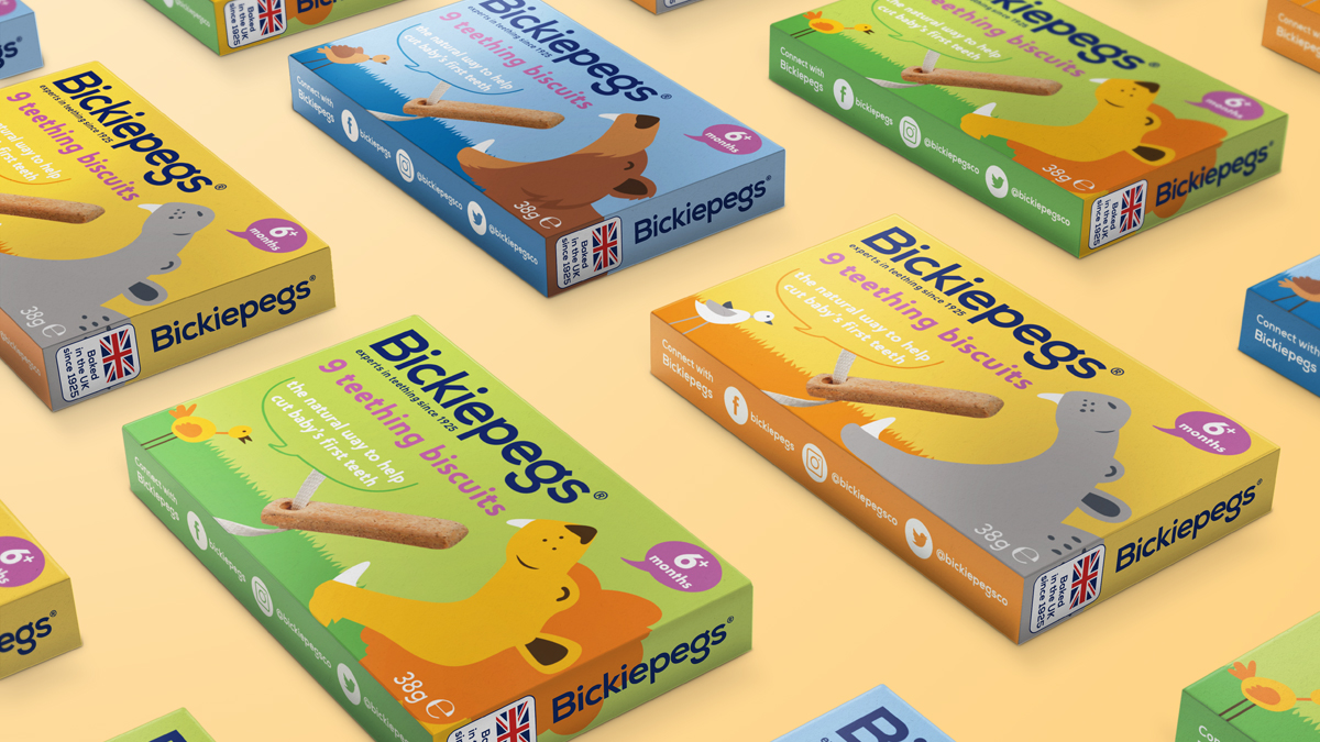 Welcome to the Wonderful World of Bickiepegs, With Brand and Packaging Design by Design Activity