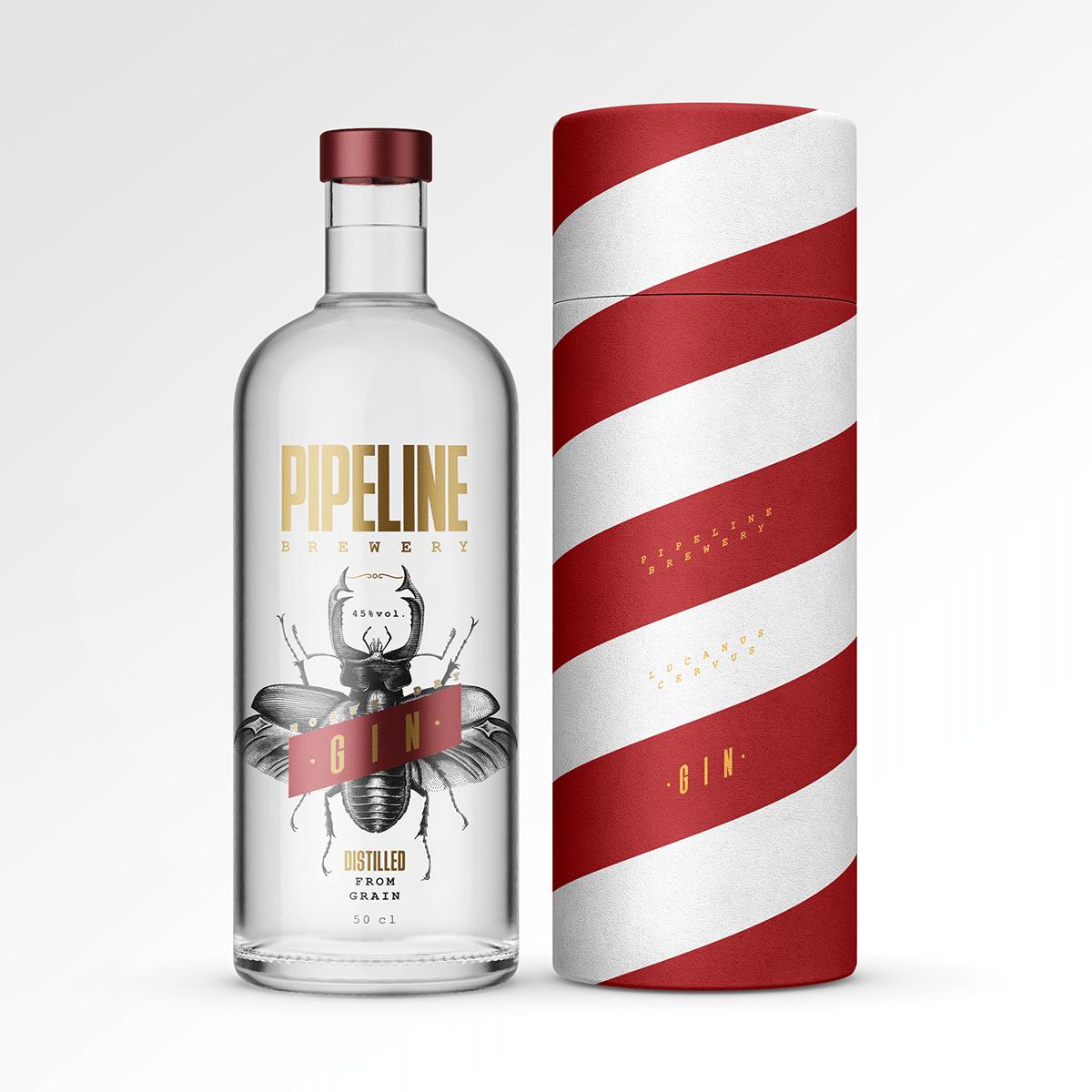 Miha Avsenik Creates Packaging Design Concept for Lucanus Lervus – London Dry Gin