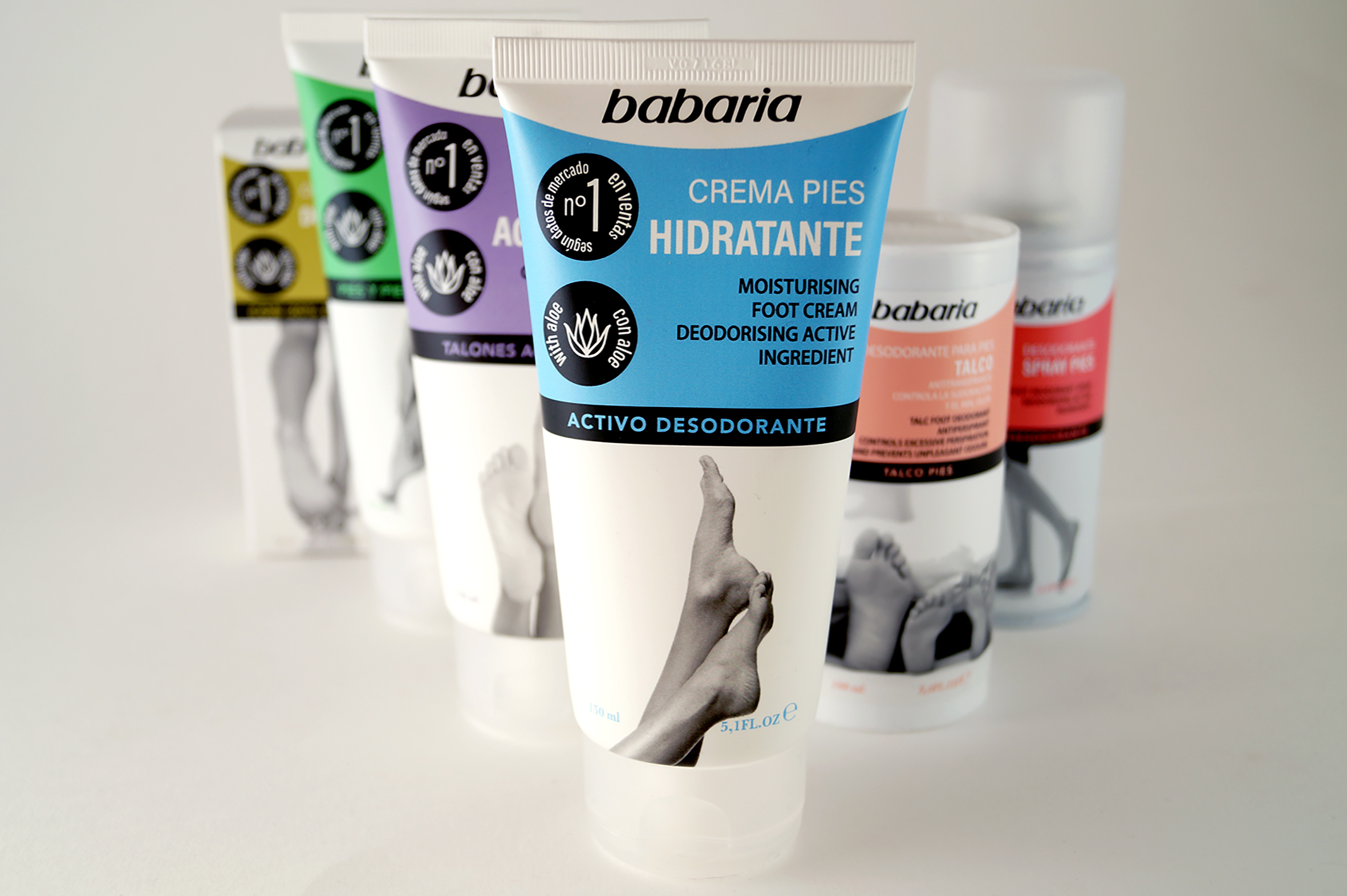 Magic Mirror Design Create Brand and Packaging Design for Babaria Feet Care Range