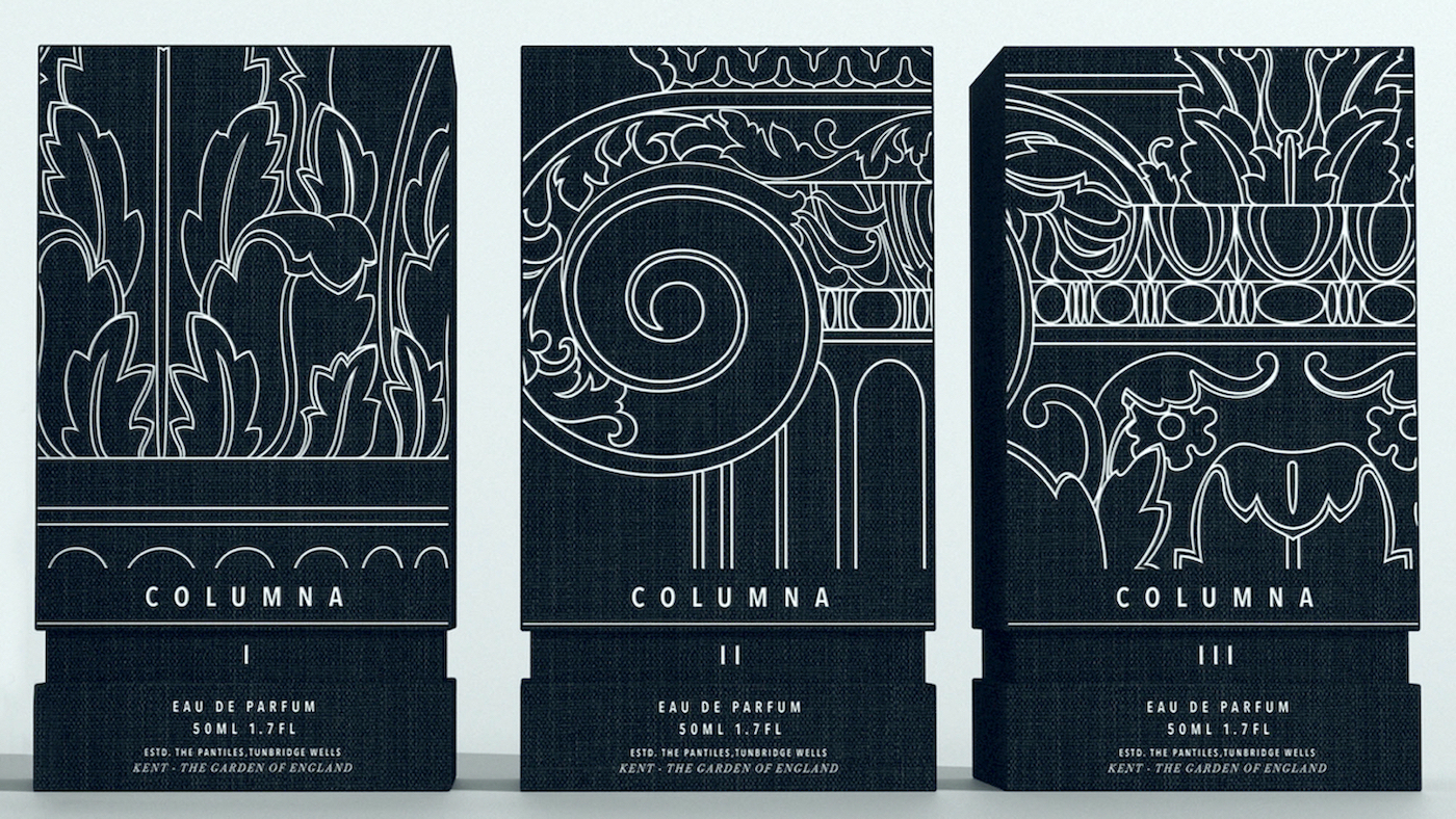 Built to Win: JDO Creates Columna de Parfum